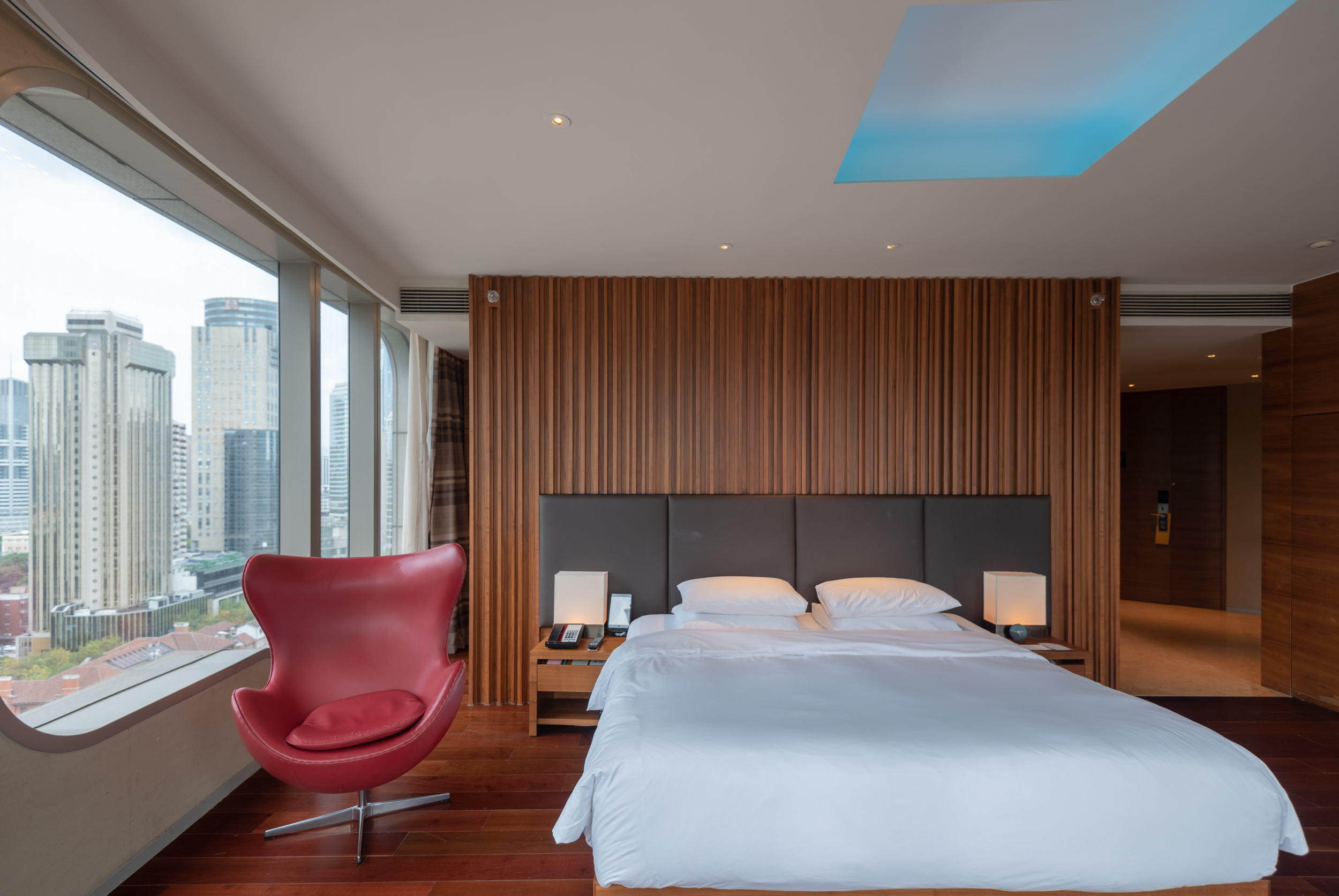 Bed  King Bed Deluxe - Andaz Xintiandi, Shanghai
