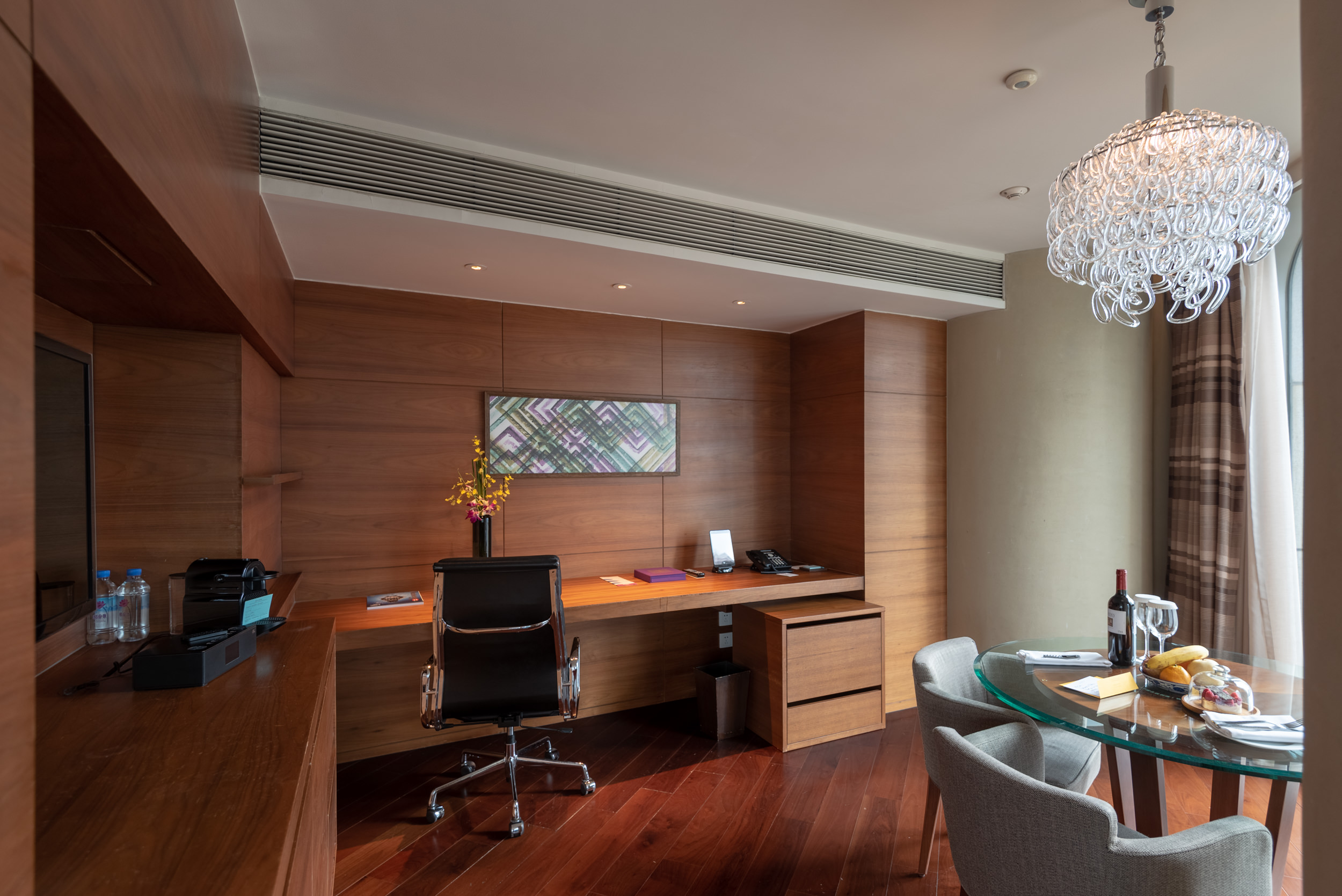 Work Desk and Dining Area  King Bed Deluxe - Andaz Xintiandi, Shanghai