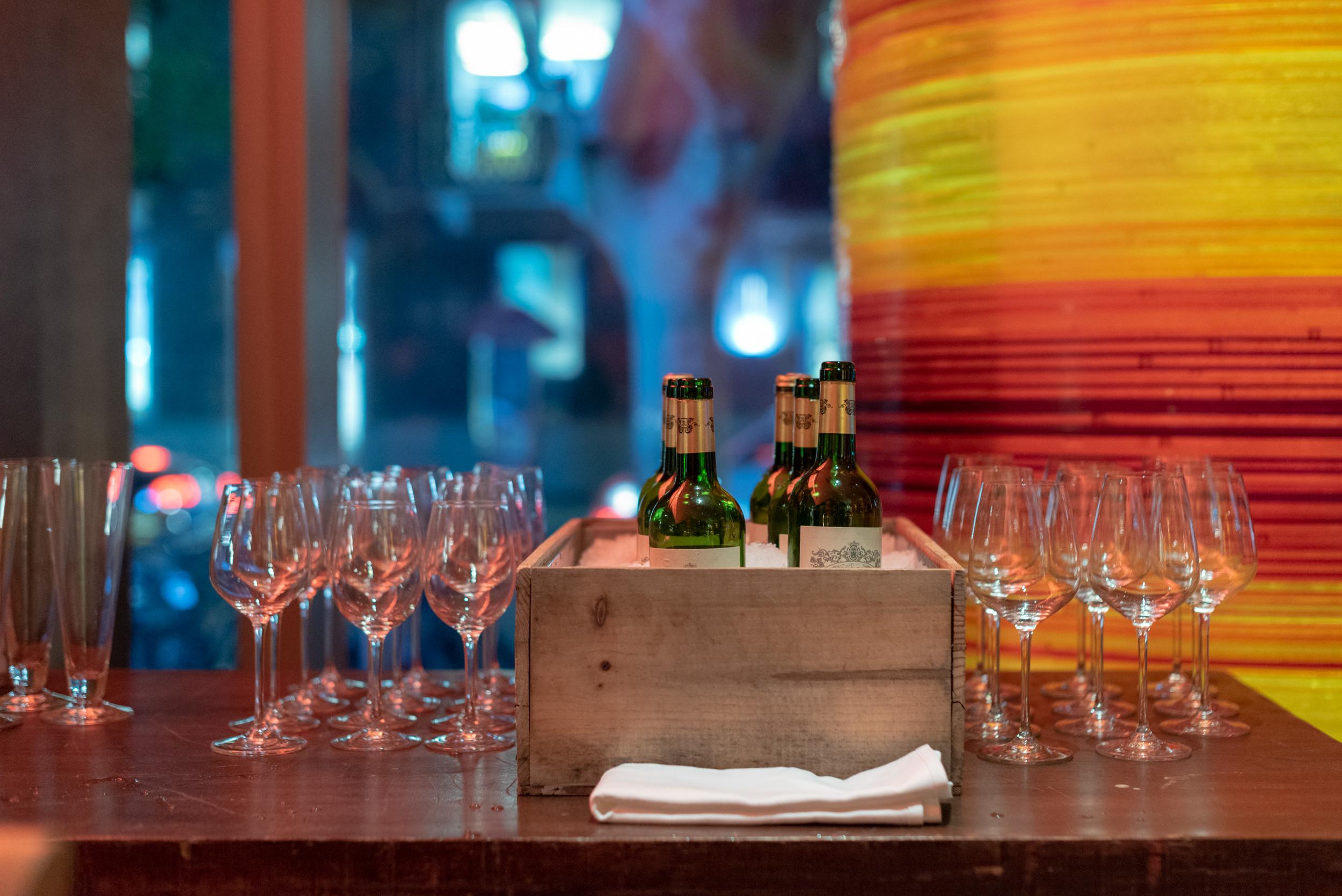 Evening Cocktails and Canapés  Xuan Bar - Andaz Xintiandi, Shanghai