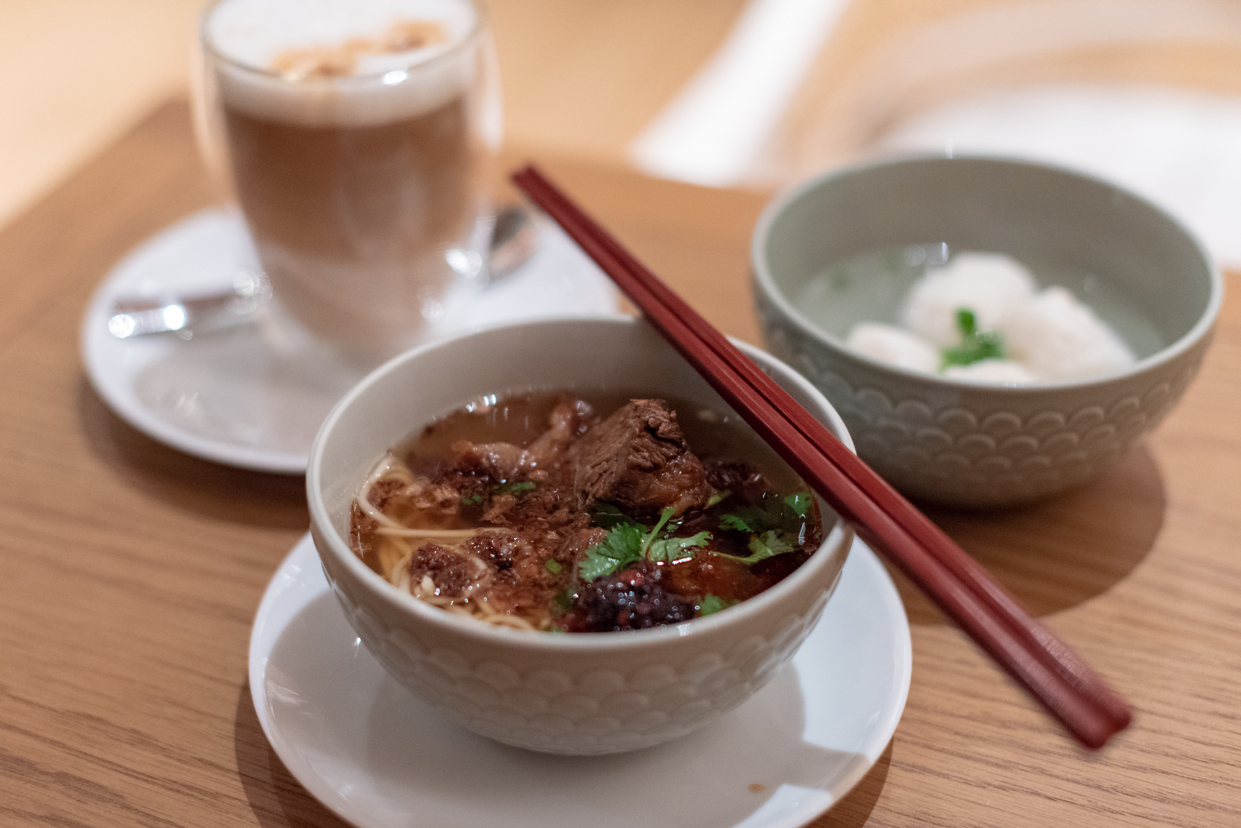 Beef Noodles  Kitchen Studios - Andaz Xintiandi, Shanghai