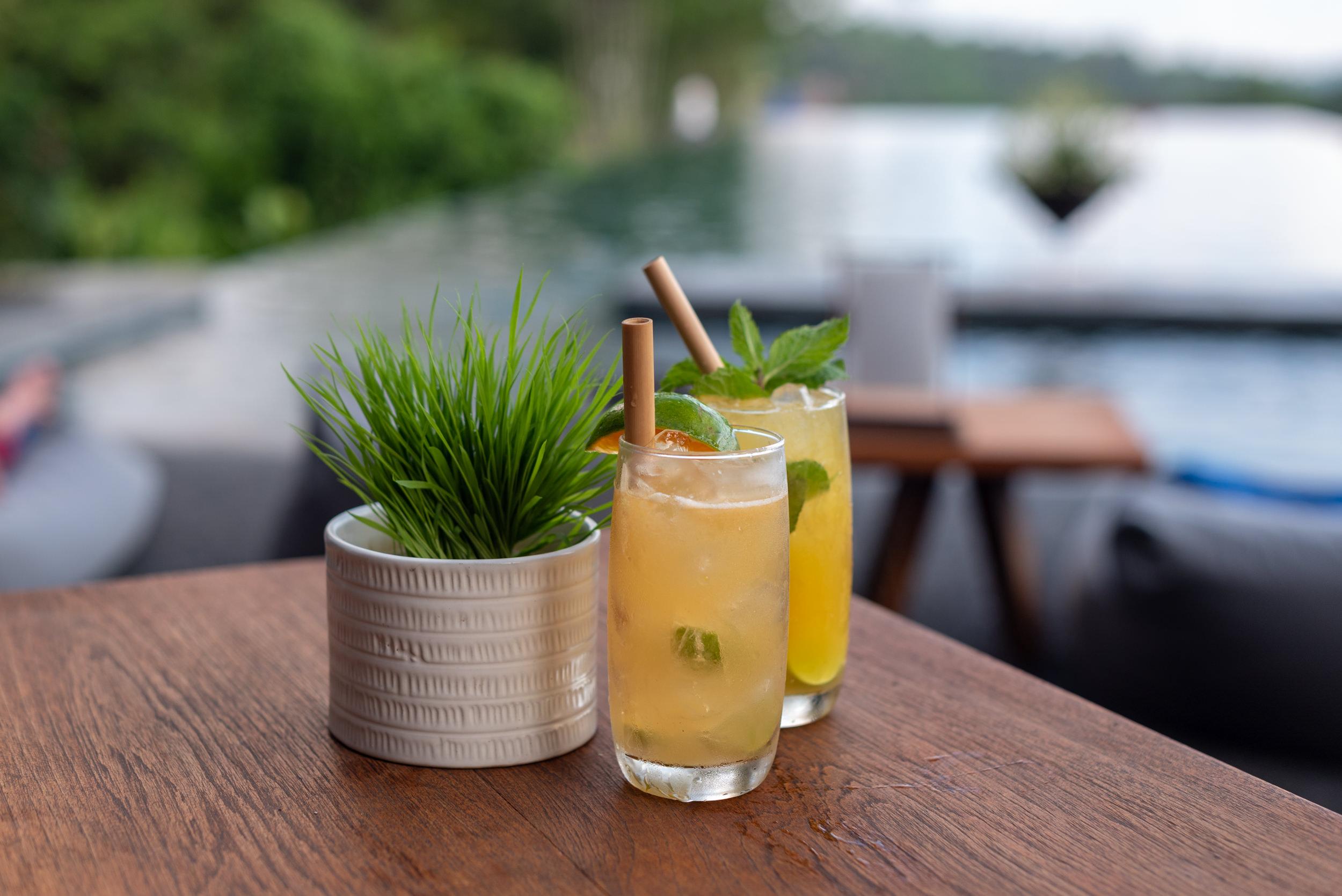 Sundowners  Cabana Lounge - Alila Ubud