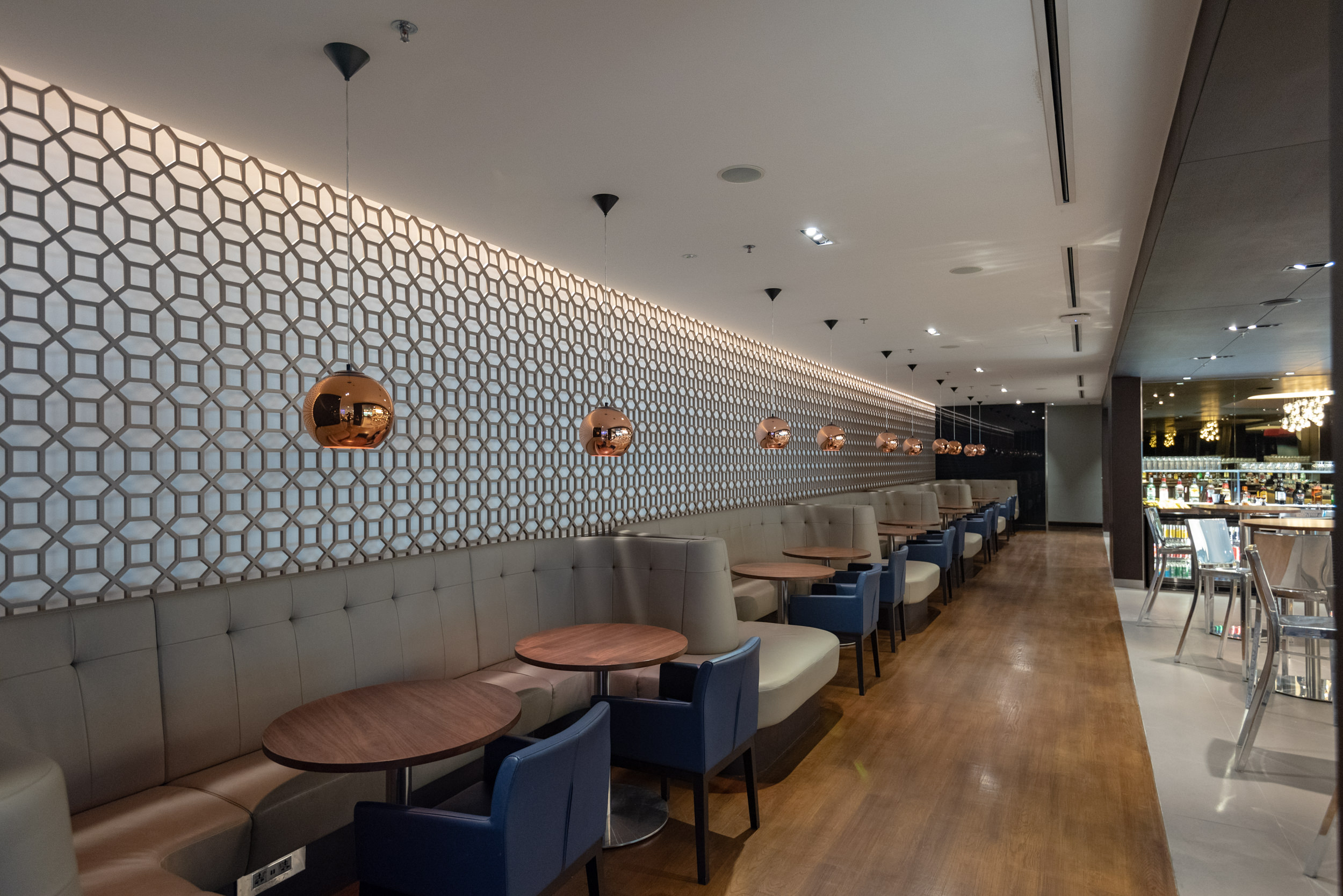 Plush Seating Area  British Airways Lounge and Concorde Bar - Singapore Changi Airport (SIN)