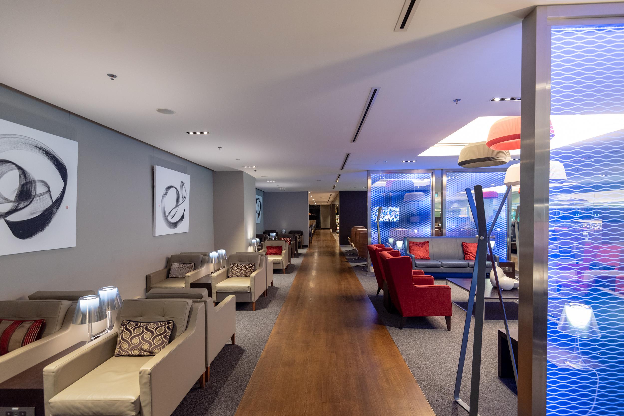 Interiors  British Airways Lounge and Concorde Bar - Singapore Changi Airport (SIN)
