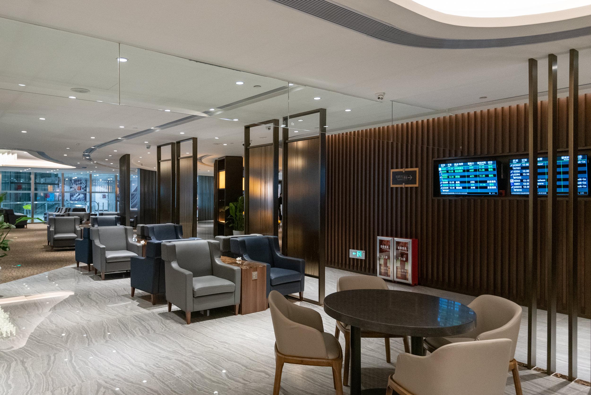 Plenty of Seats  Premium Lounge (Terminal 2) - Guangzhou Baiyun International Airport (CAN)