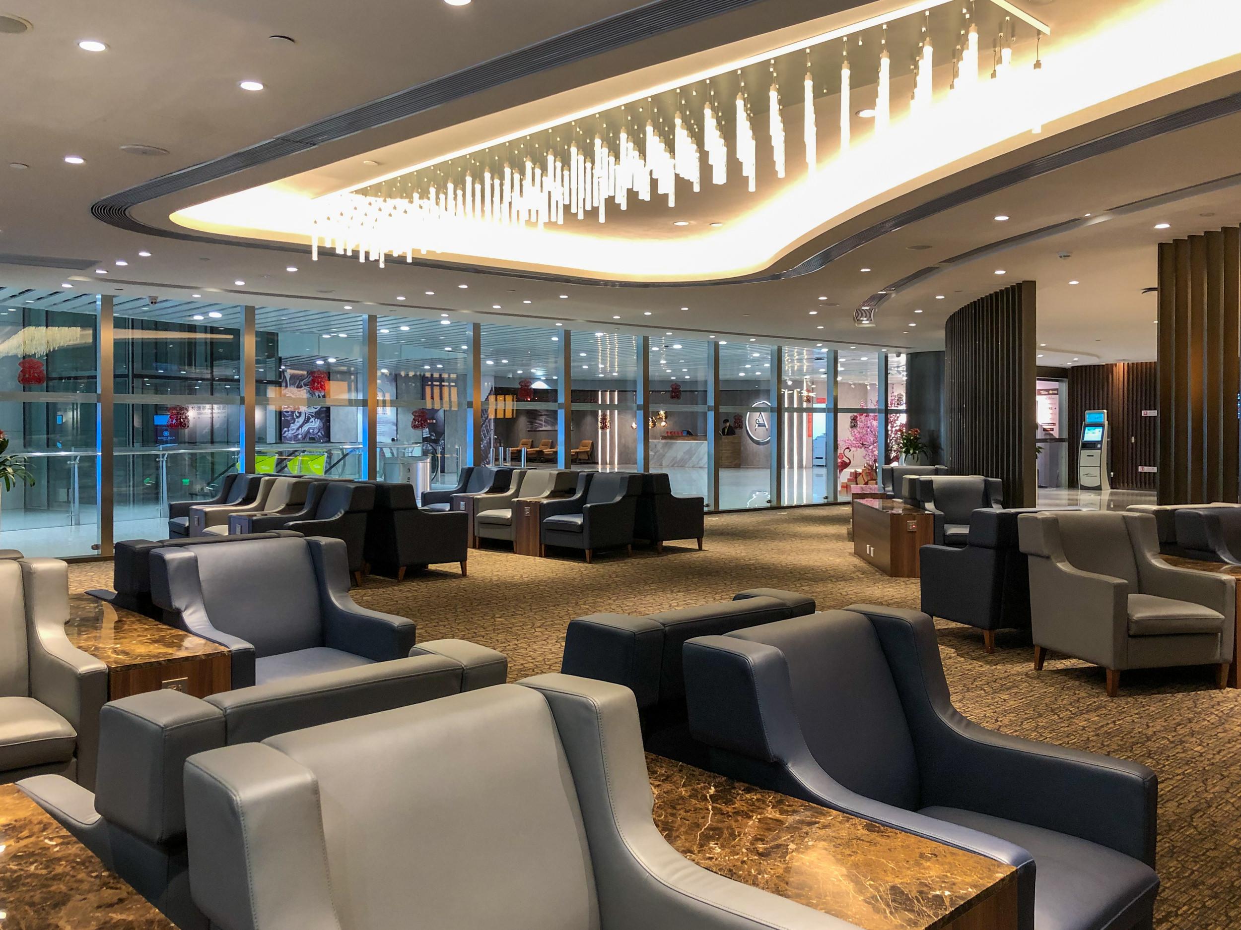 Seats Near Entrance  Premium Lounge (Terminal 2) - Guangzhou Baiyun International Airport (CAN)