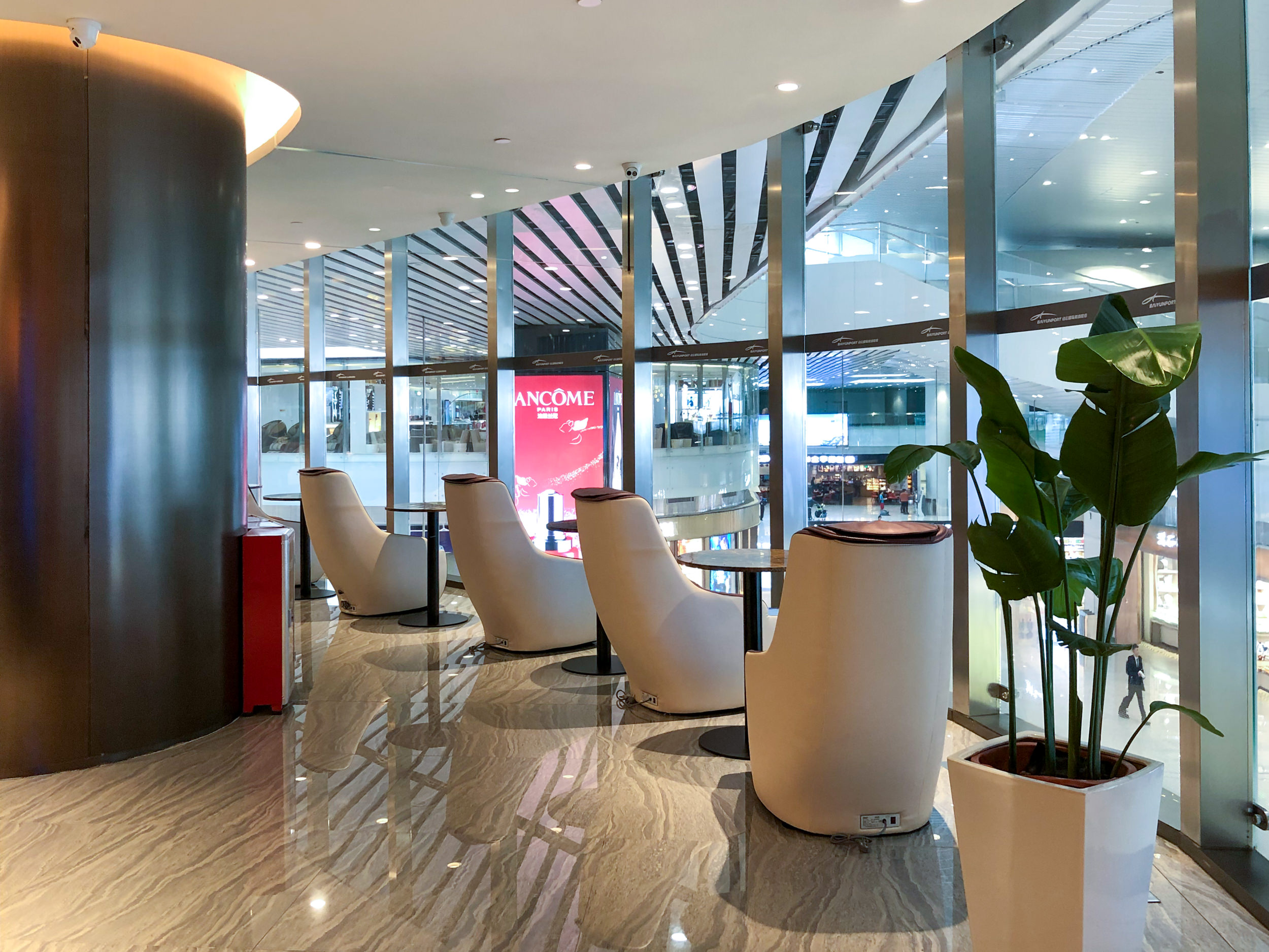 Massage Chairs  Premium Lounge (Terminal 2) - Guangzhou Baiyun International Airport (CAN)