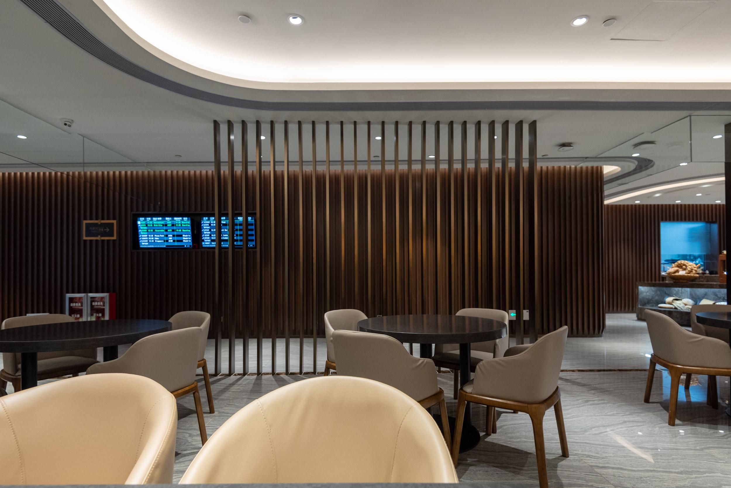 Sleek Modern Design  Premium Lounge (Terminal 2) - Guangzhou Baiyun International Airport (CAN)