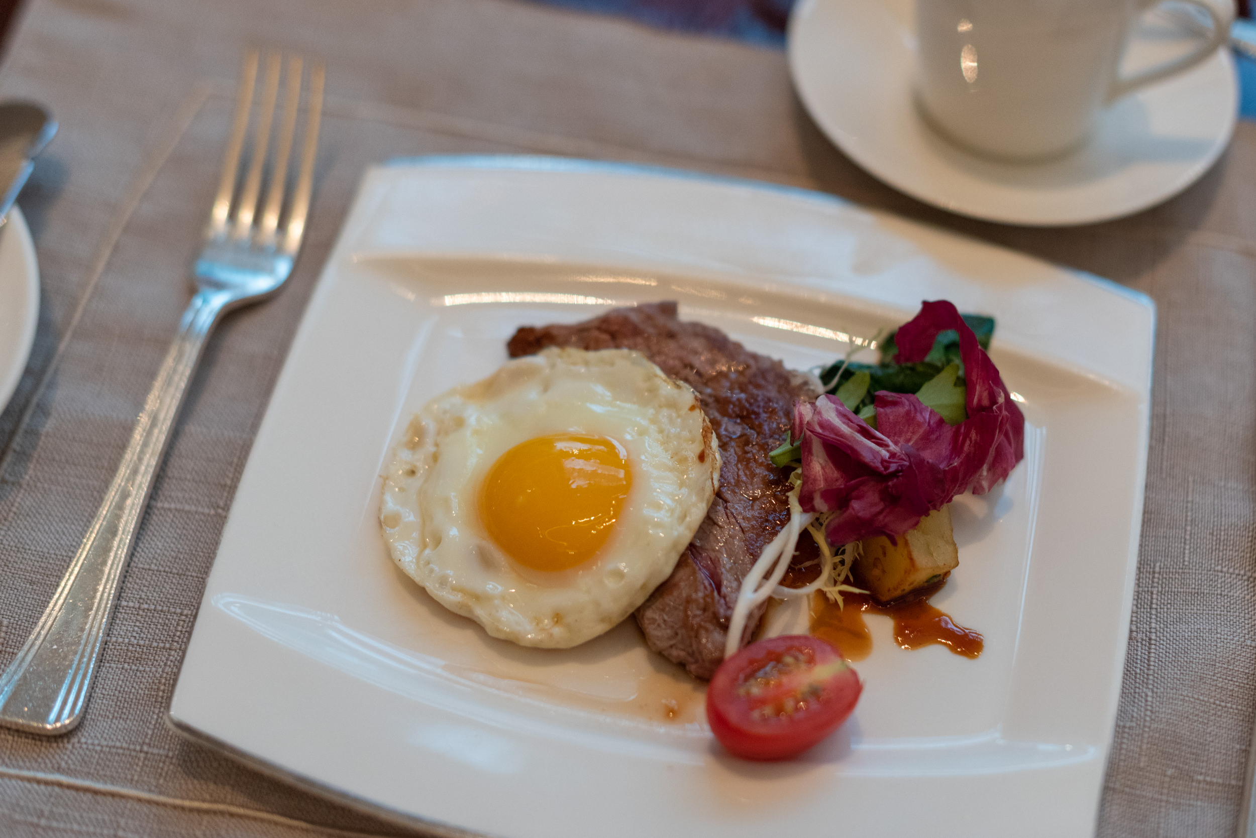 Steak and Eggs Grand Brasserie - Waldorf Astoria Shanghai on the Bund