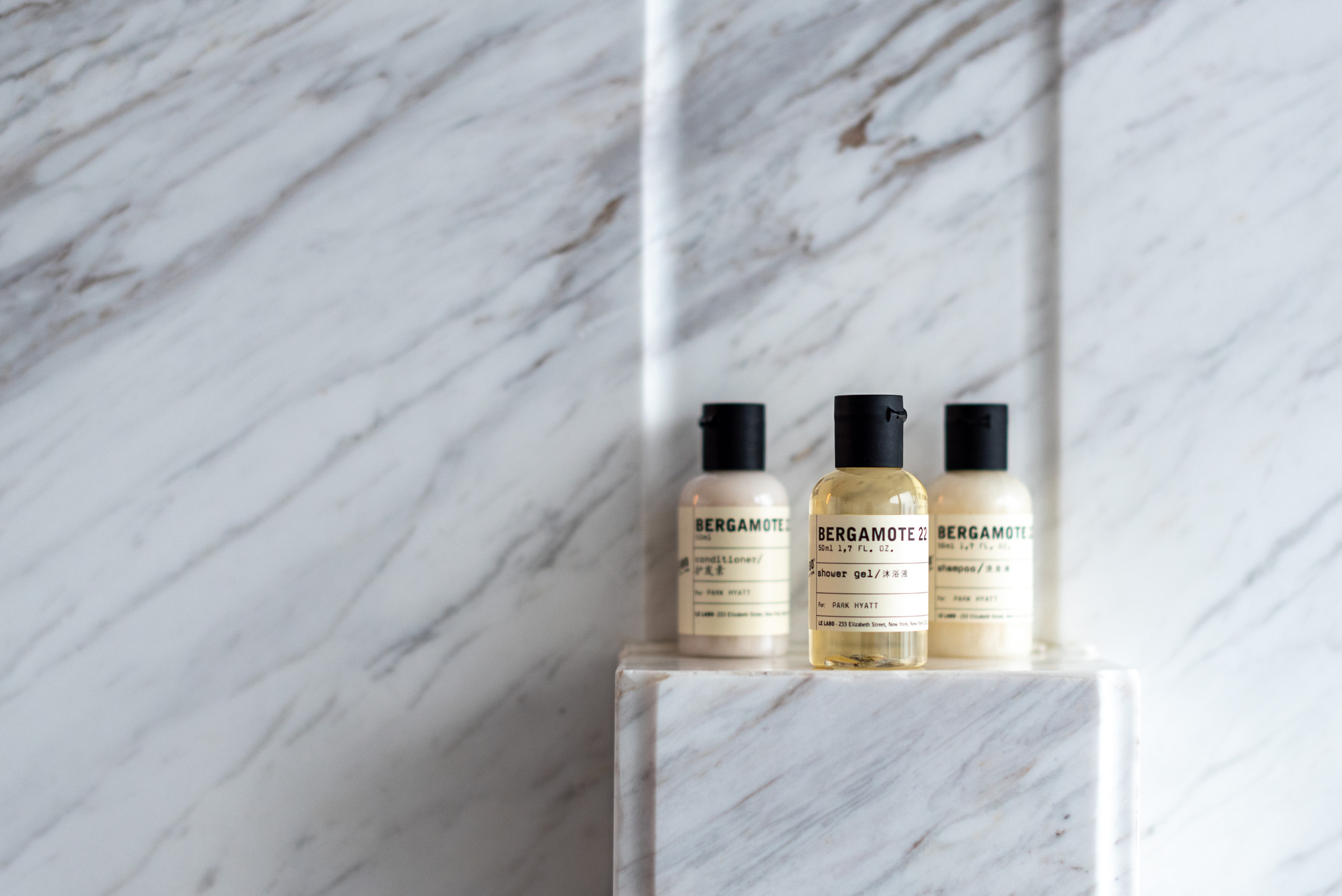 Bath Amenities from Le Labo Deluxe Riverview King - Park Hyatt Hangzhou