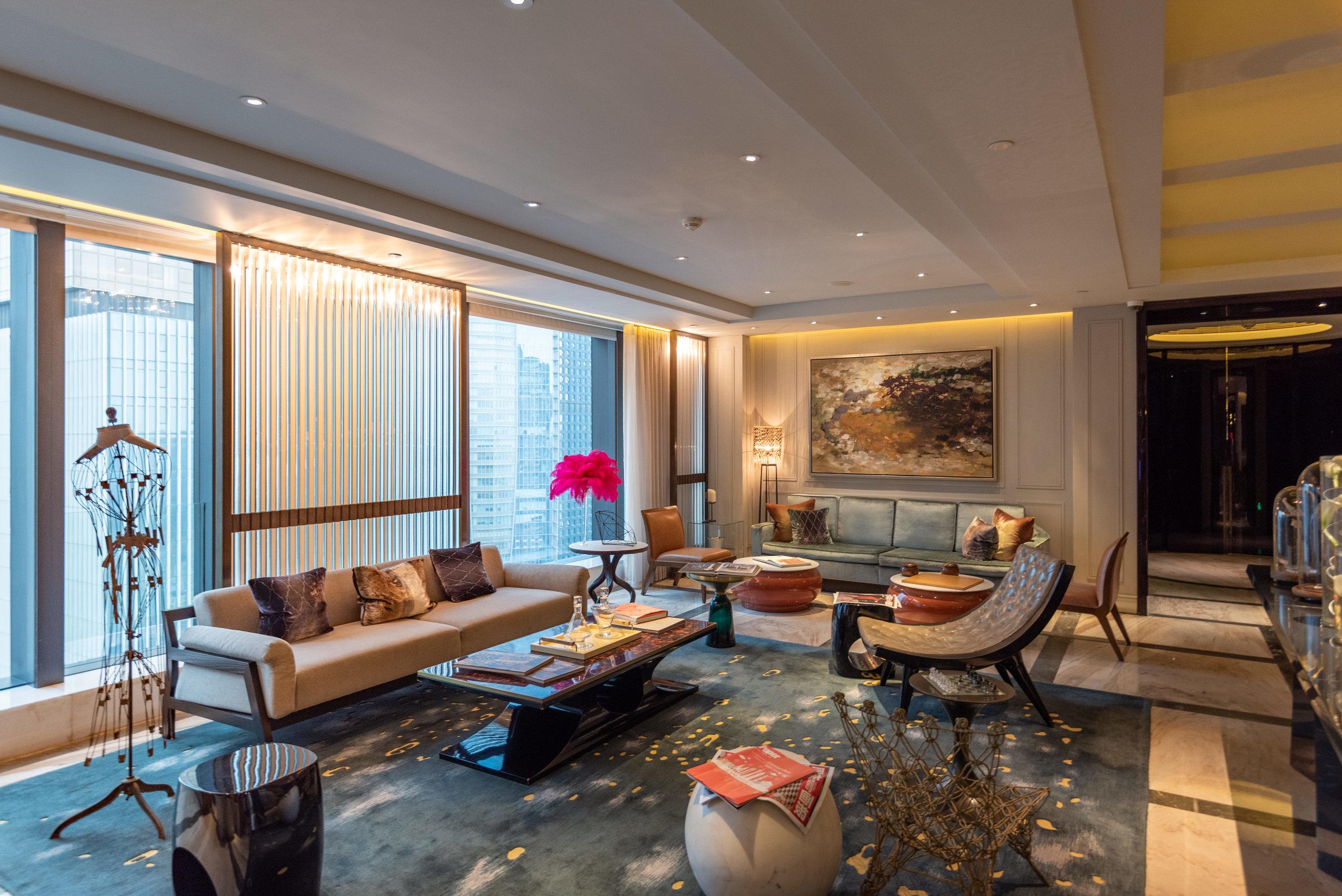 Main Reception  Club Lounge - W Guangzhou