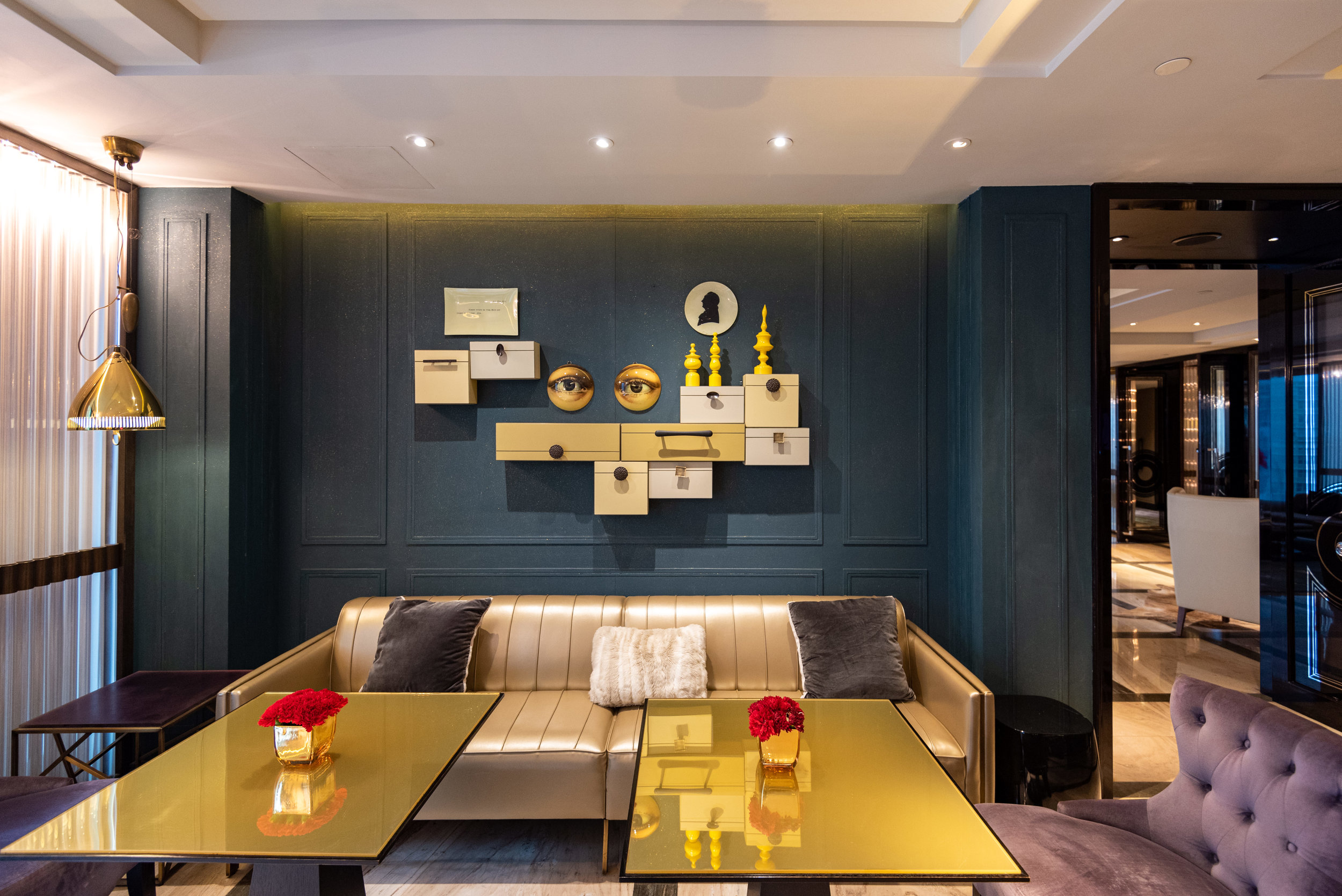 Dining Room  Club Lounge - W Guangzhou