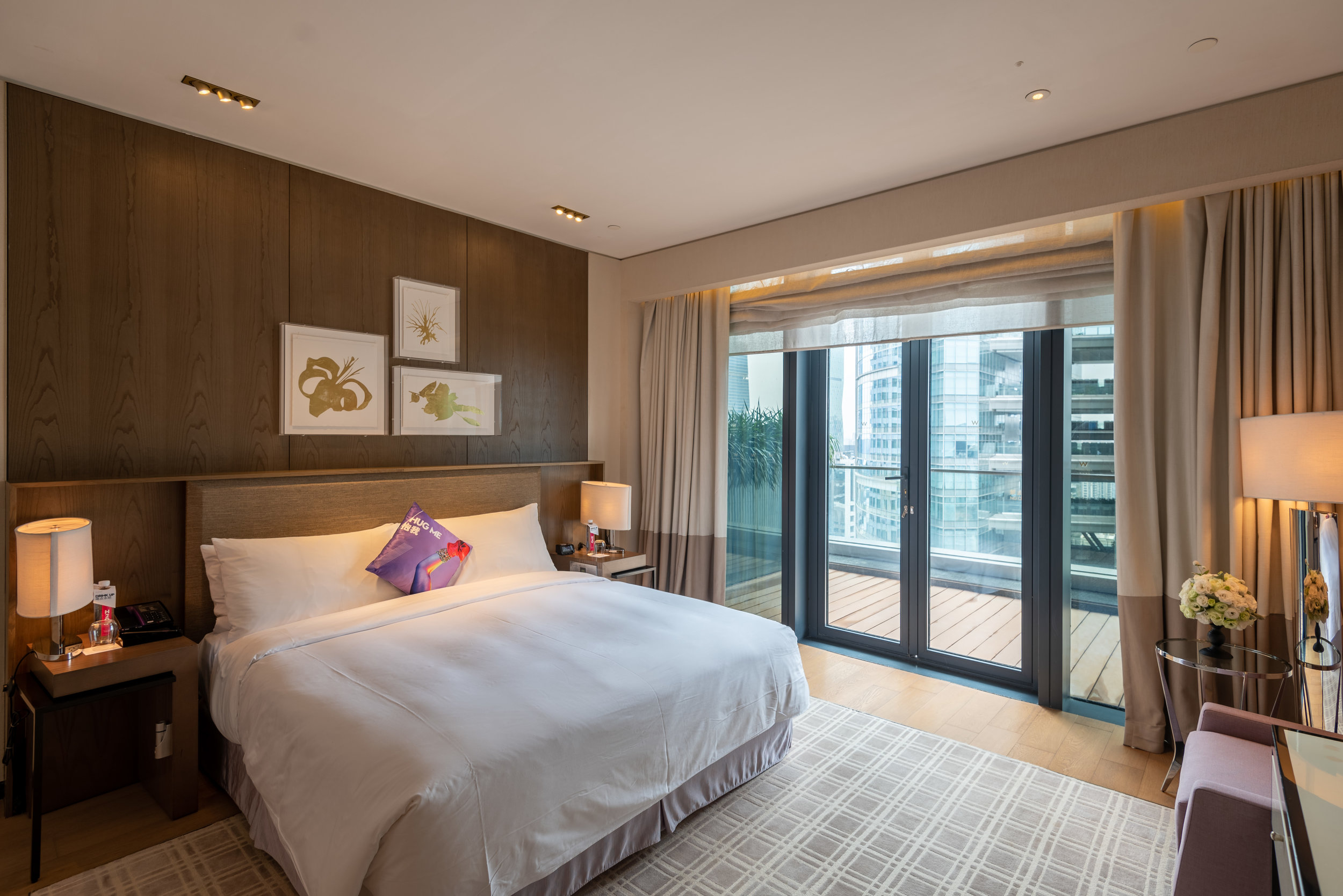 Bedroom  WOW Suite - W Guangzhou