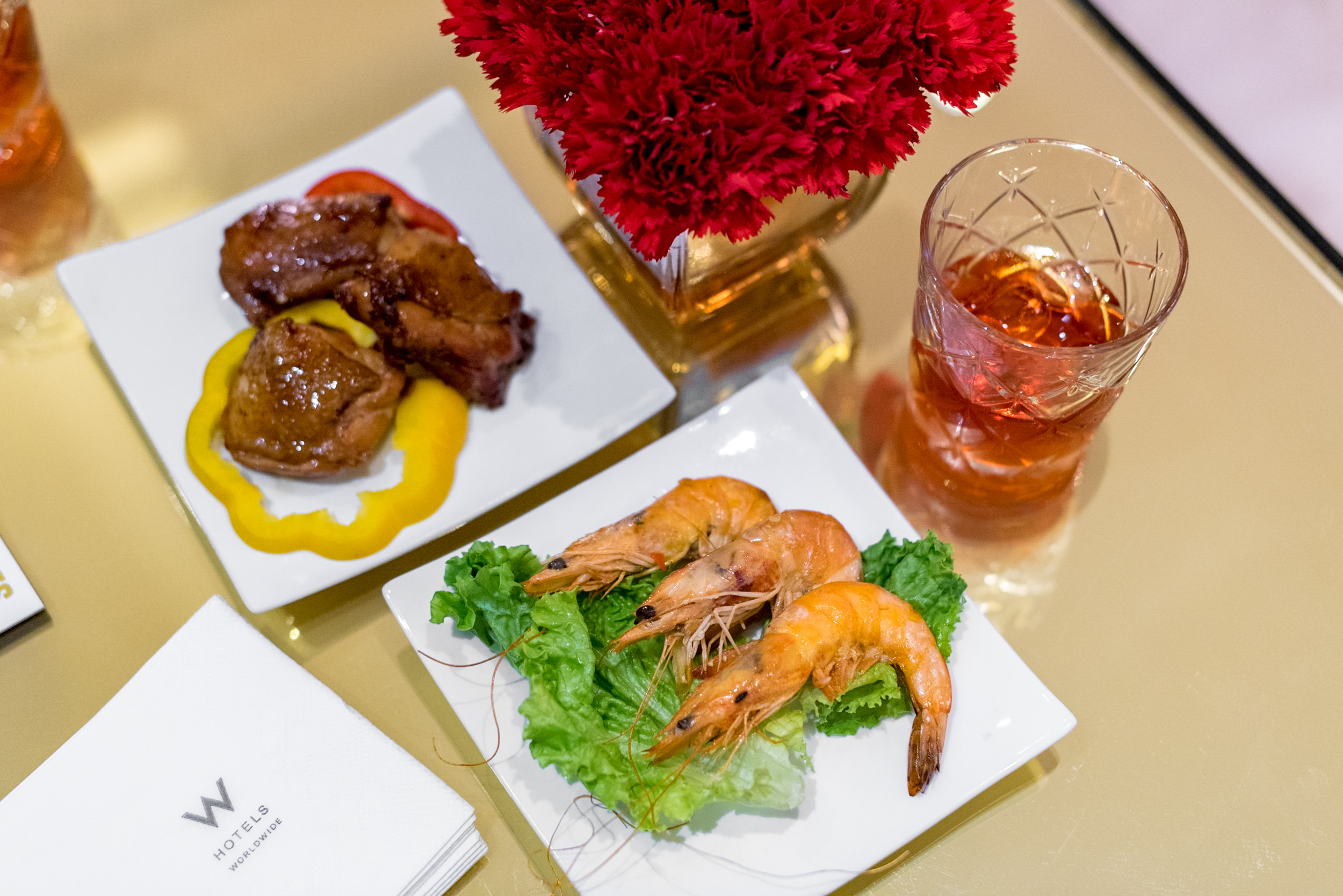 Selection of Food  Club Lounge - W Guangzhou