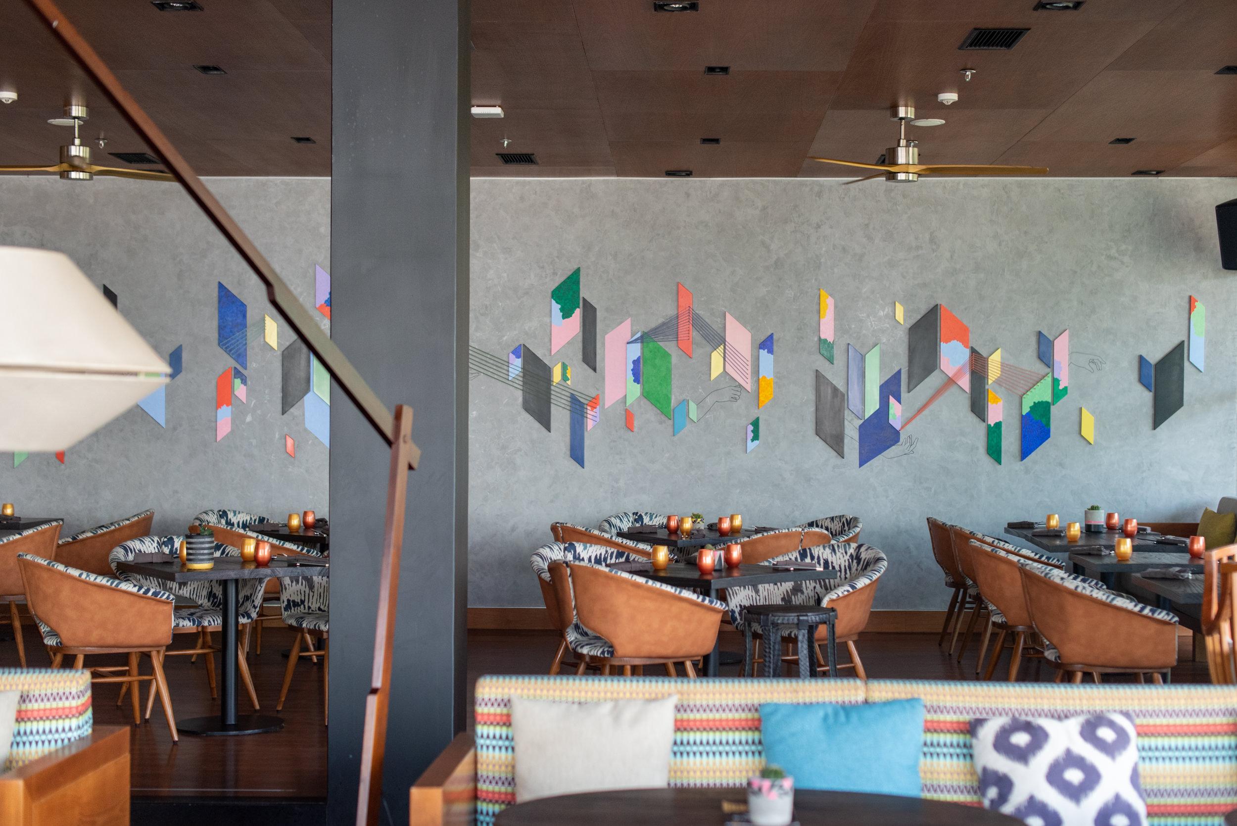 Restaurant Interiors  SugarSand - Hotel Indigo Bali Seminyak Beach