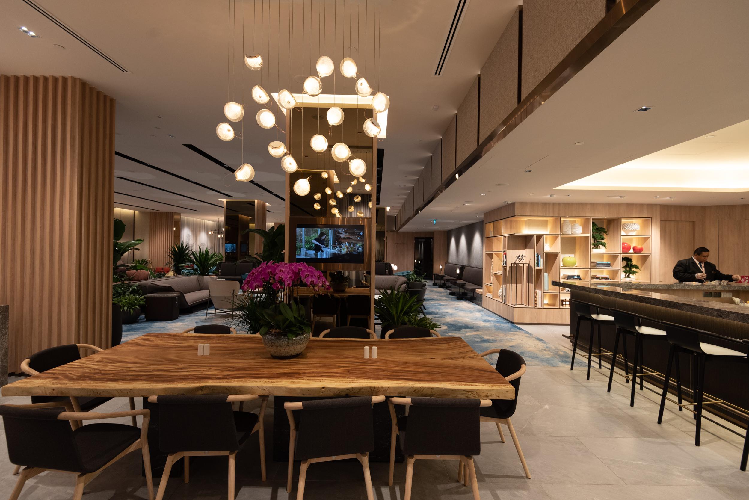 Dining Area  Changi Lounge - Jewel Changi Airport