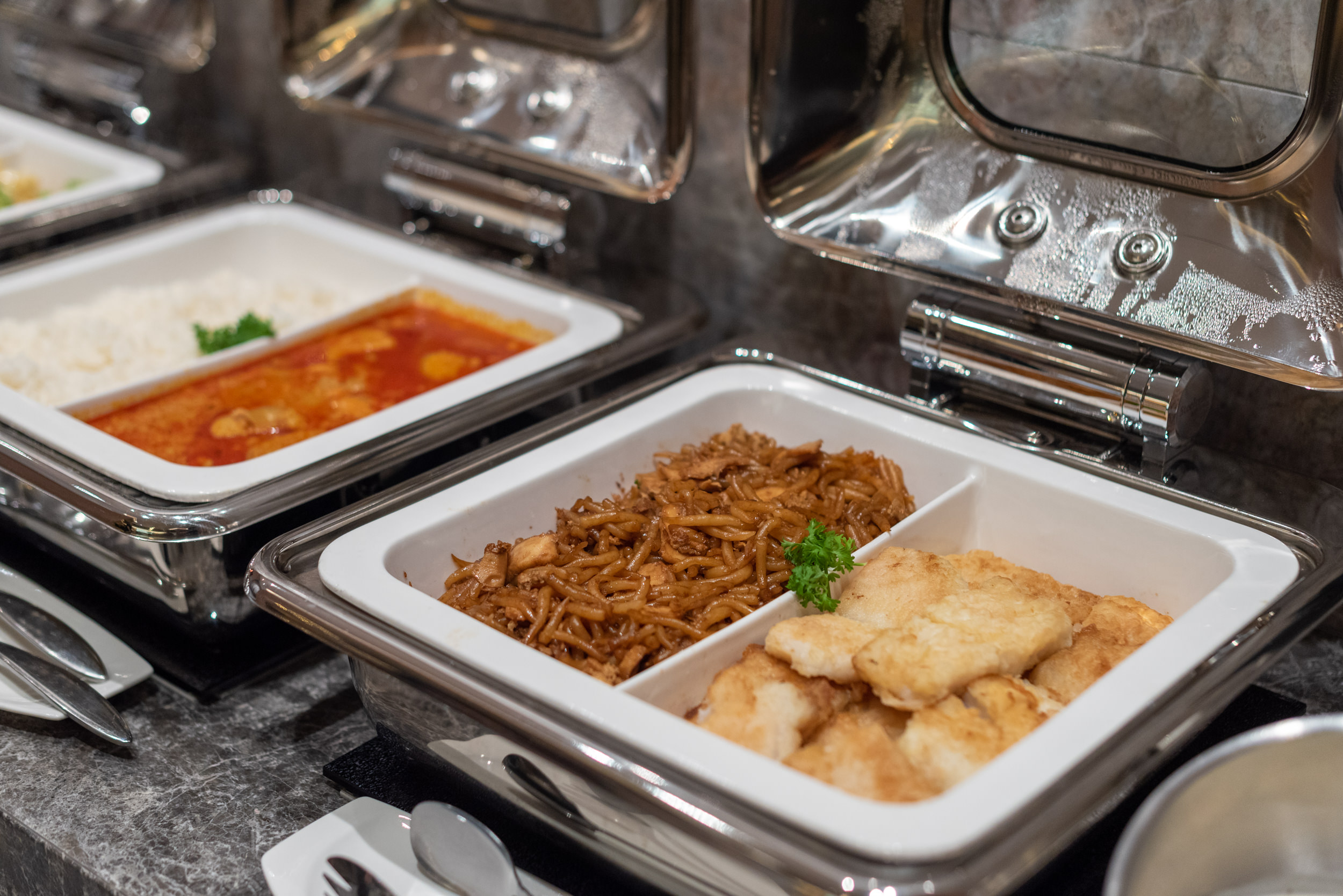 Selection of Food  Changi Lounge - Jewel Changi Airport