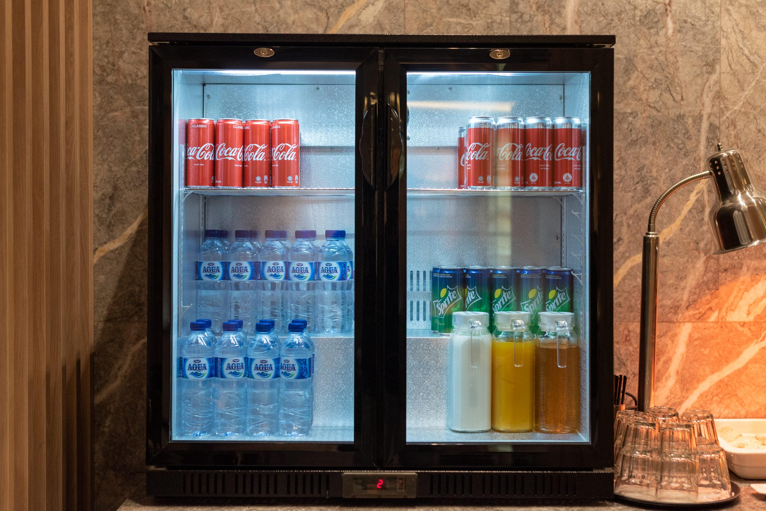 Selection of Beverages  Changi Lounge - Jewel Changi Airport