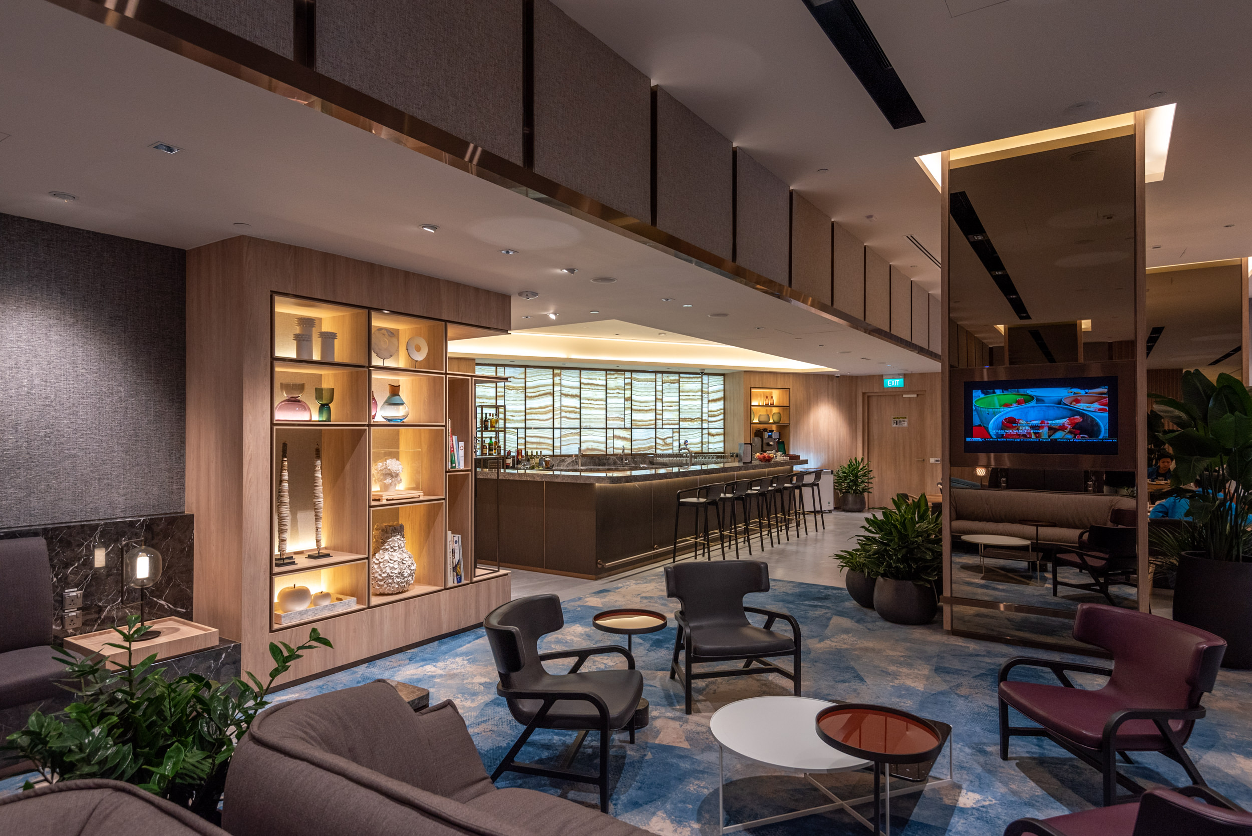 Bar  Changi Lounge - Jewel Changi Airport
