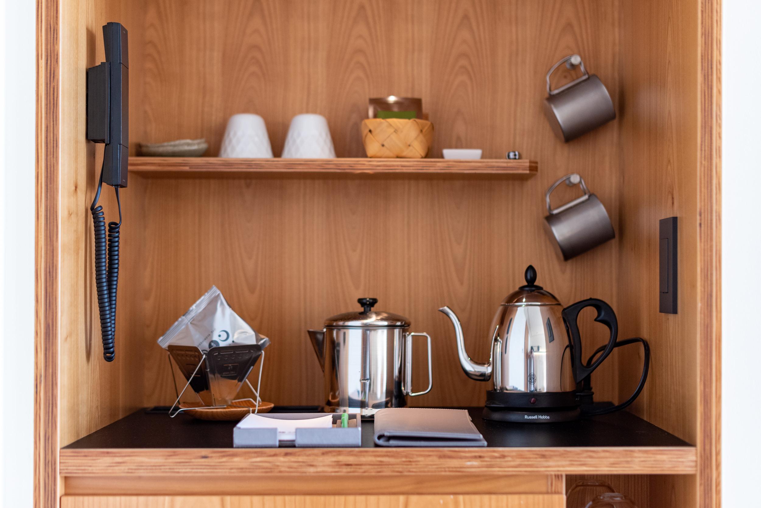 Coffee and Tea  T Cabin - HOSHINOYA Fuji