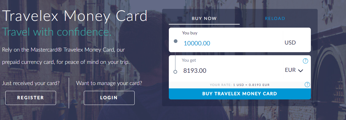 Multi-currency accounts for business trips — The Shutterwhale