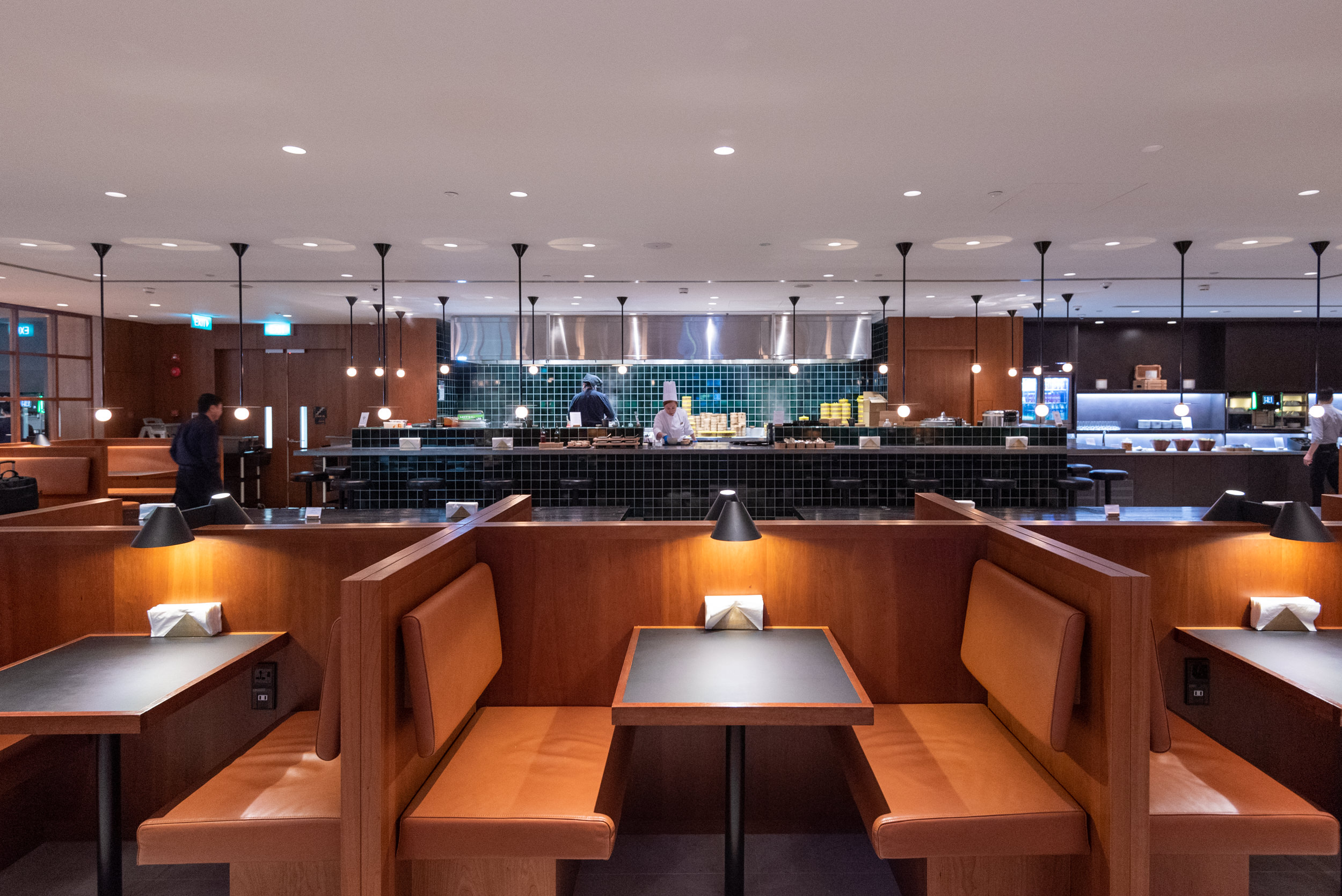 The Noodle Bar  Cathay Pacific Lounge (Terminal 4) - Singapore Changi Airport (SIN)