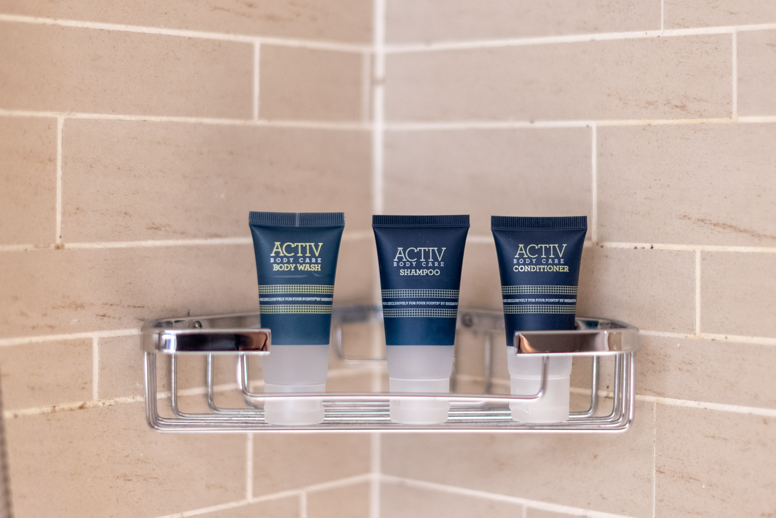 Bath Amenities  Premium Room - Four Points by Sheraton Singapore, Riverview