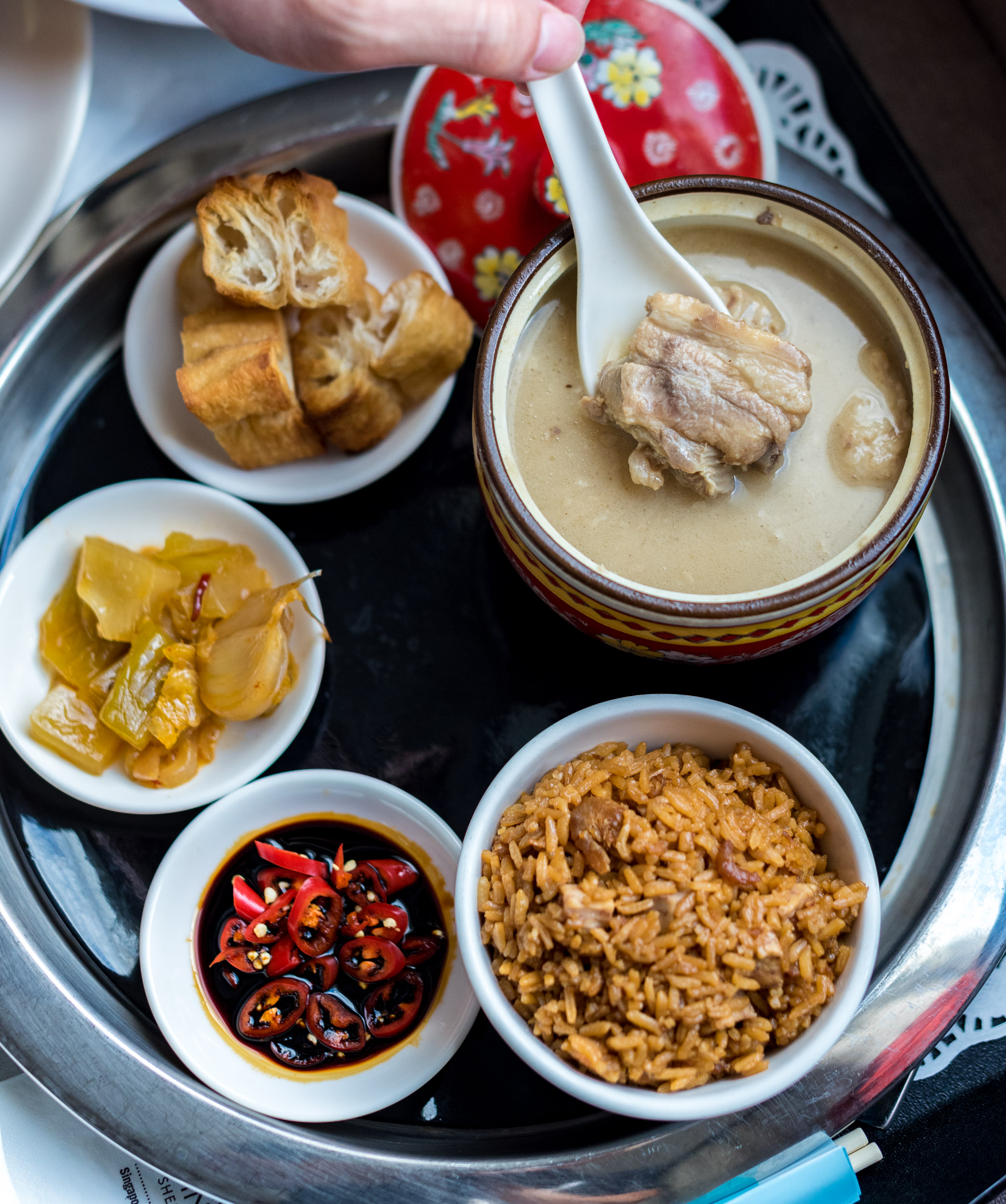 Old Time Bak Kut Teh (Room Service)   Premium Room - Four Points by Sheraton Singapore, Riverview