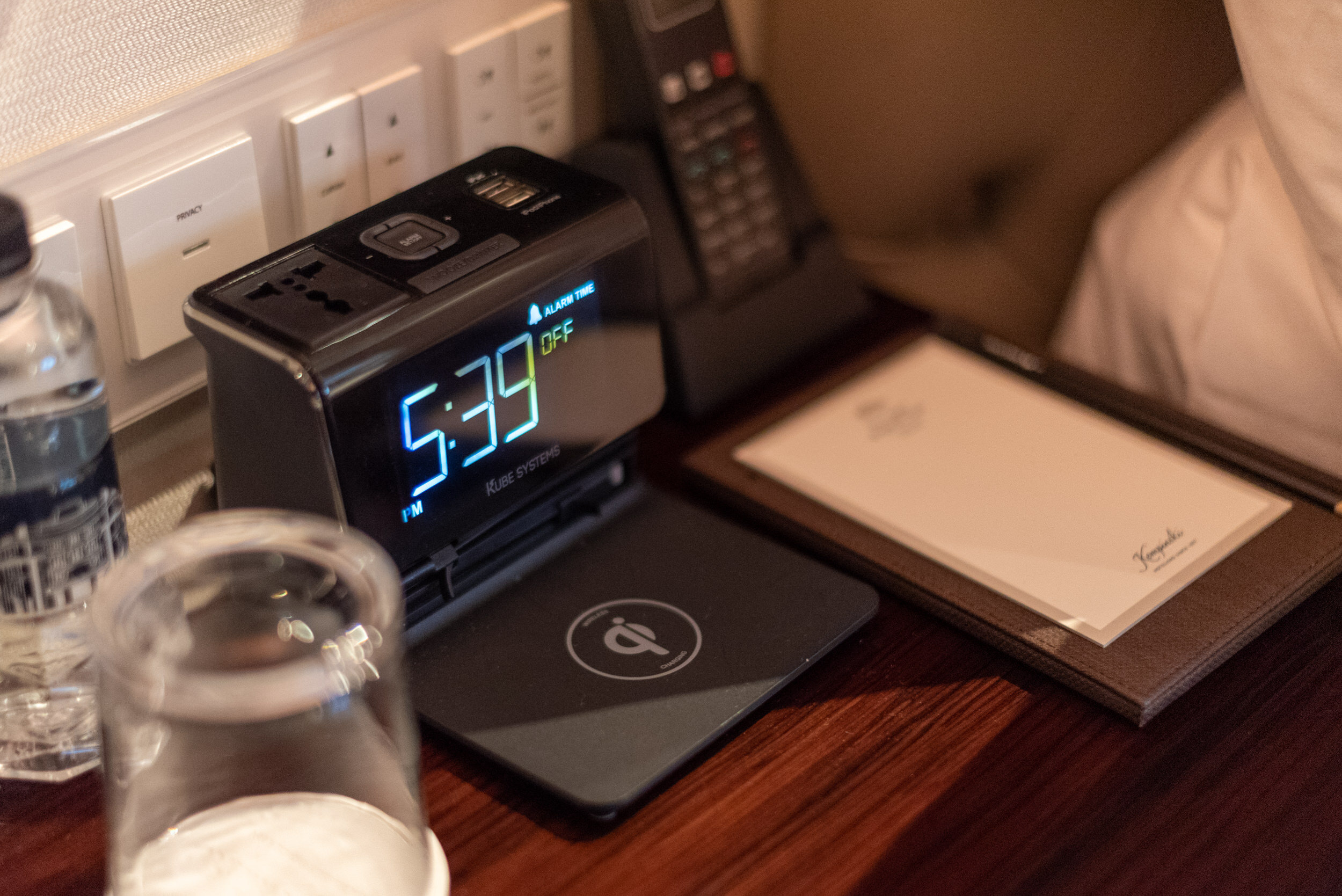 Wireless Charging for Mobile Phones  Terrace Room - The Capitol Kempinski Hotel Singapore