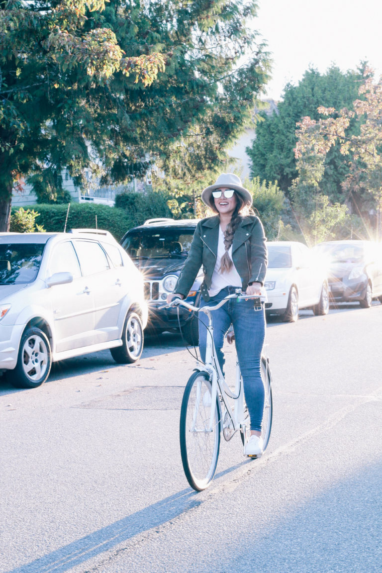 Alicia Fashonista x Lochside Cycles Uptown Cruiser City Bike.jpg