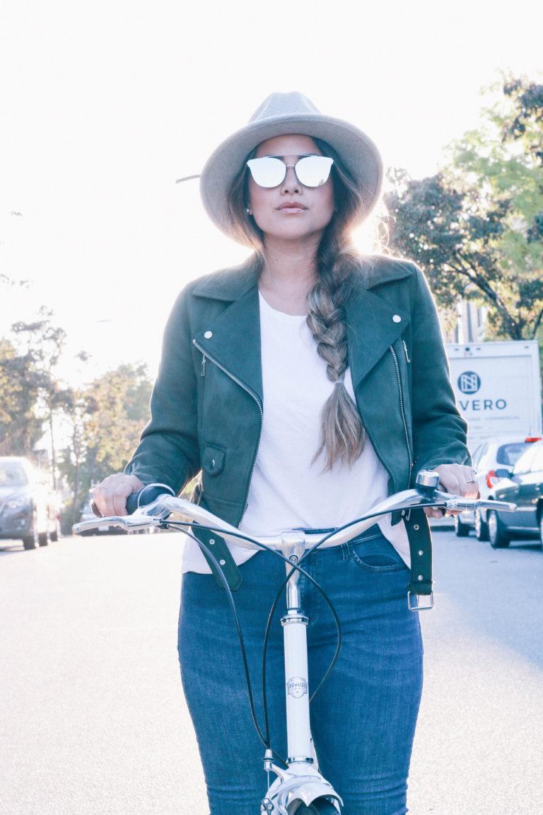 Alicia Fashonista x Lochside Cycles Uptown Cruiser City Bike 01.jpg