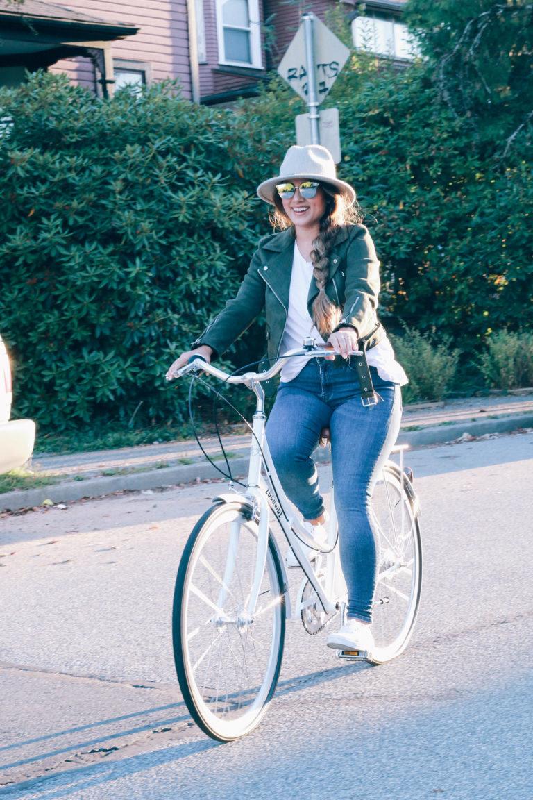 Alicia Fashonista x Lochside Cycles Uptown Cruiser City Bike 02.jpg