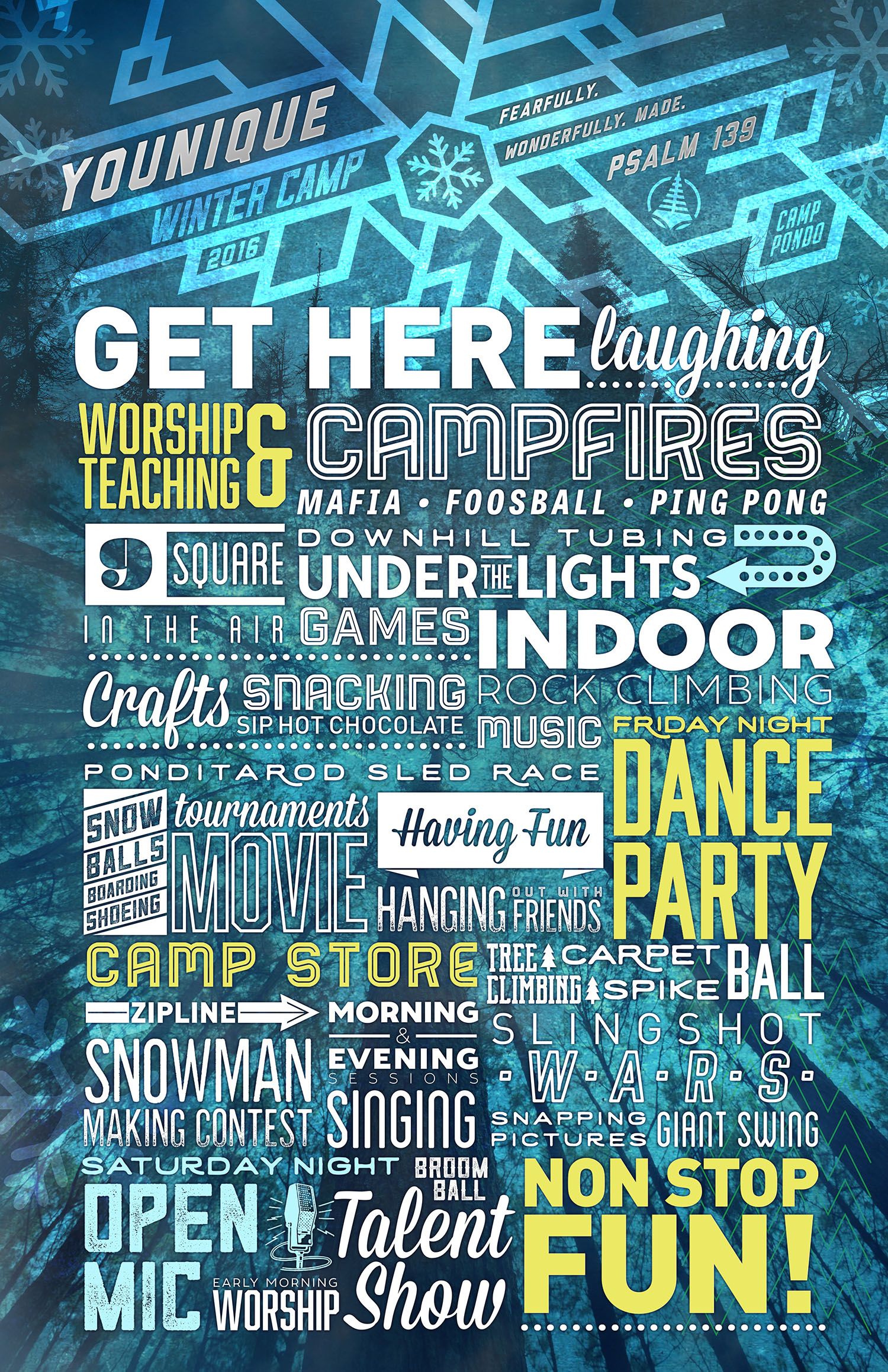 Winter Activities Posters