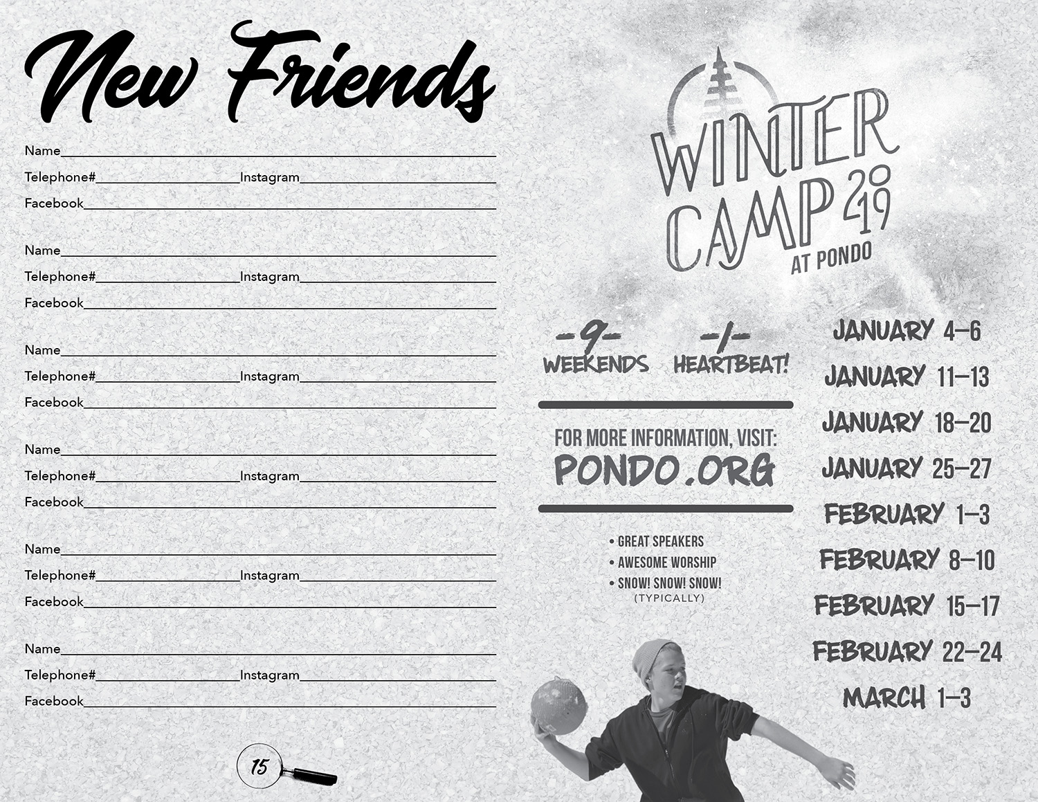 Winter Camp 2019 Promo