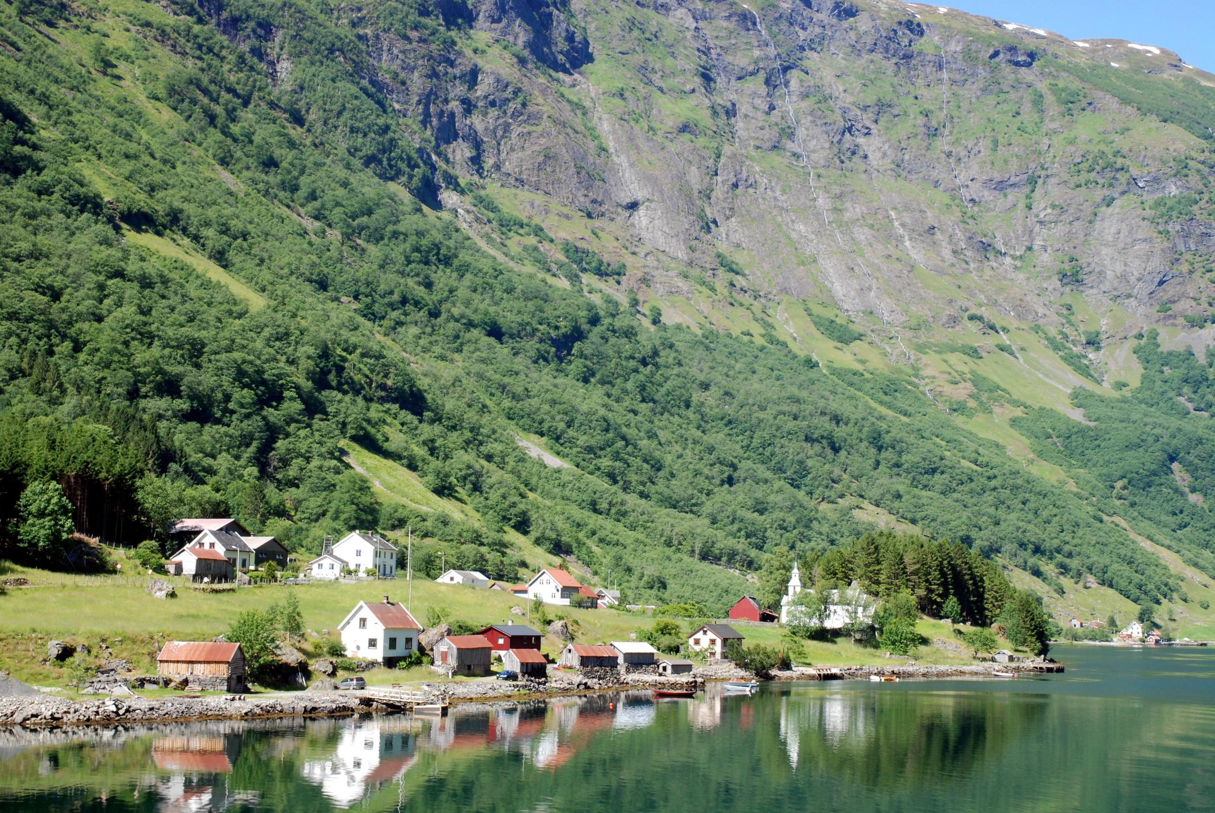 Bakka, Nærøyfjorden