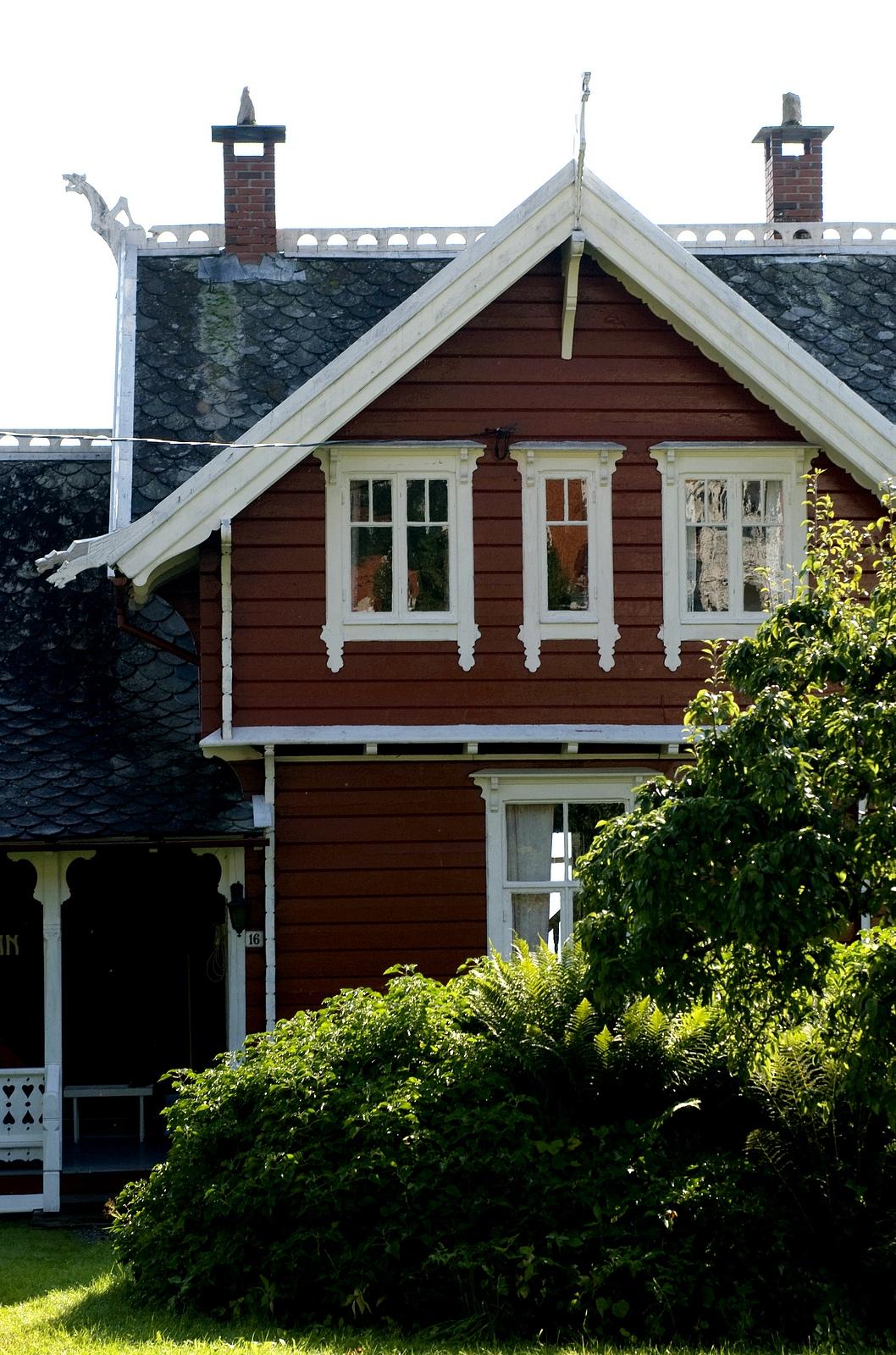 Swiss house in Balestrand