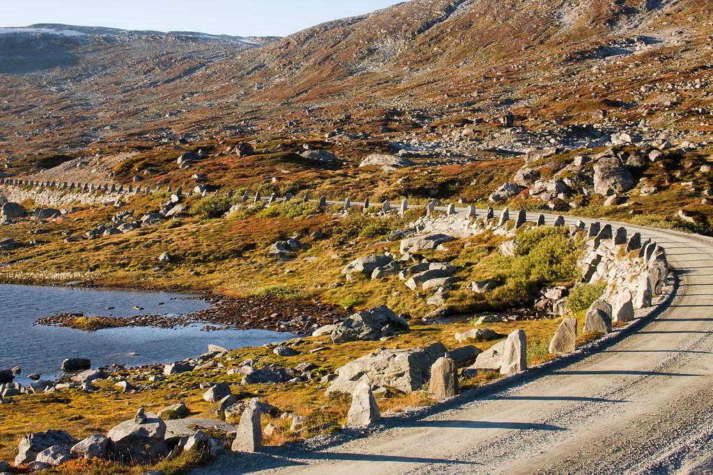 Strynefjellsvegen, September 13th. Photo by Vegar Moen / Statens Vegvesen.