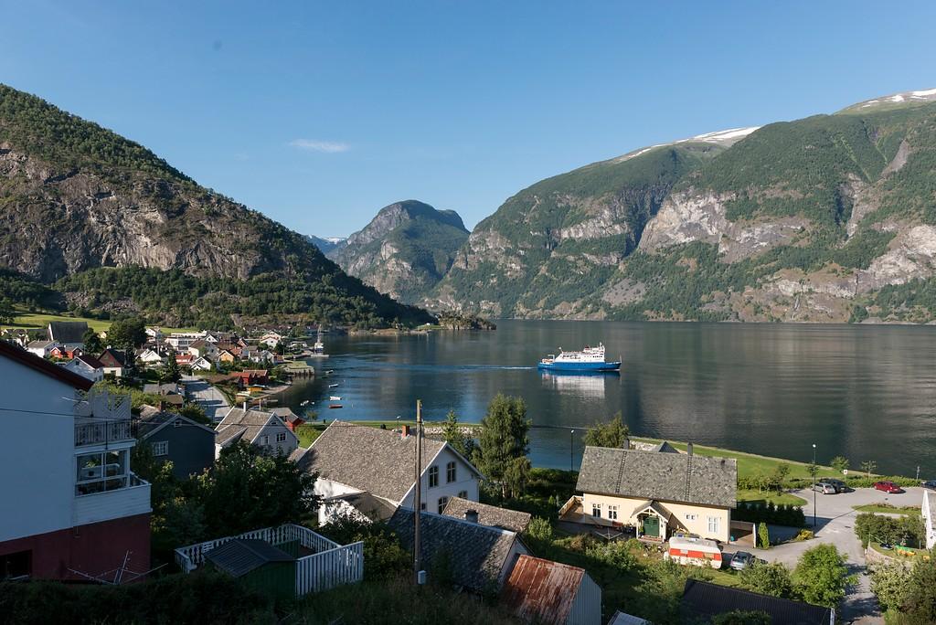 Aurland, August 15th. Photo by Roger Ellingsen / Statens Vegvesen.