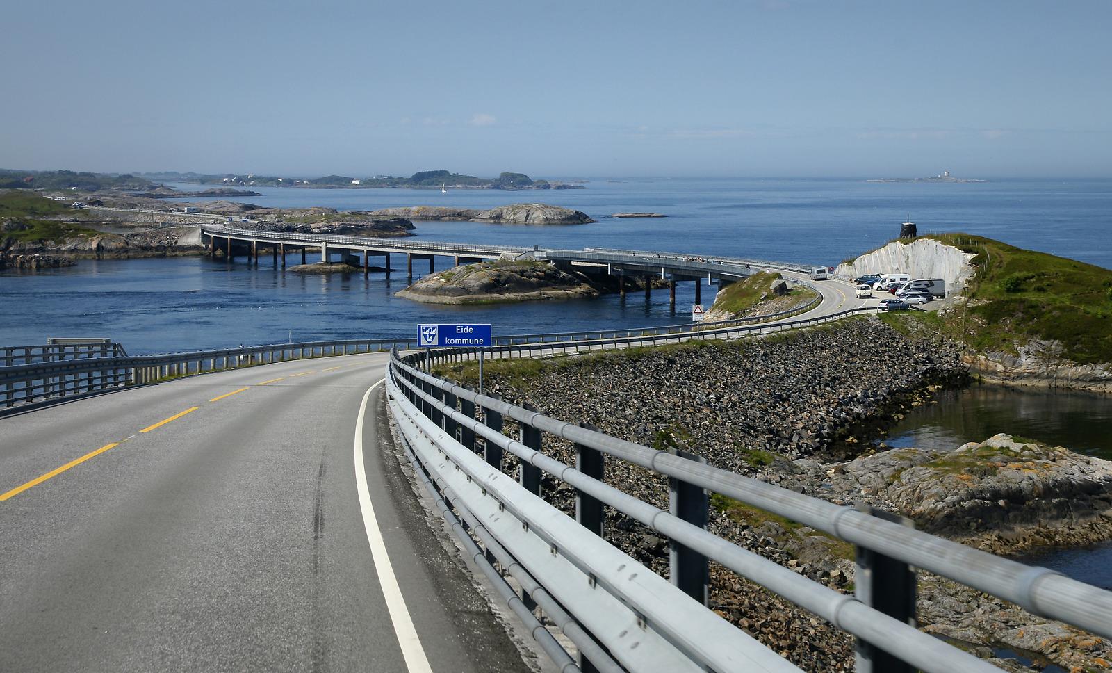 Atlantic Road / Atlanterhavsvegen, July 3rd. Photo by Tonje Tjernet / Statens Vegvesen.