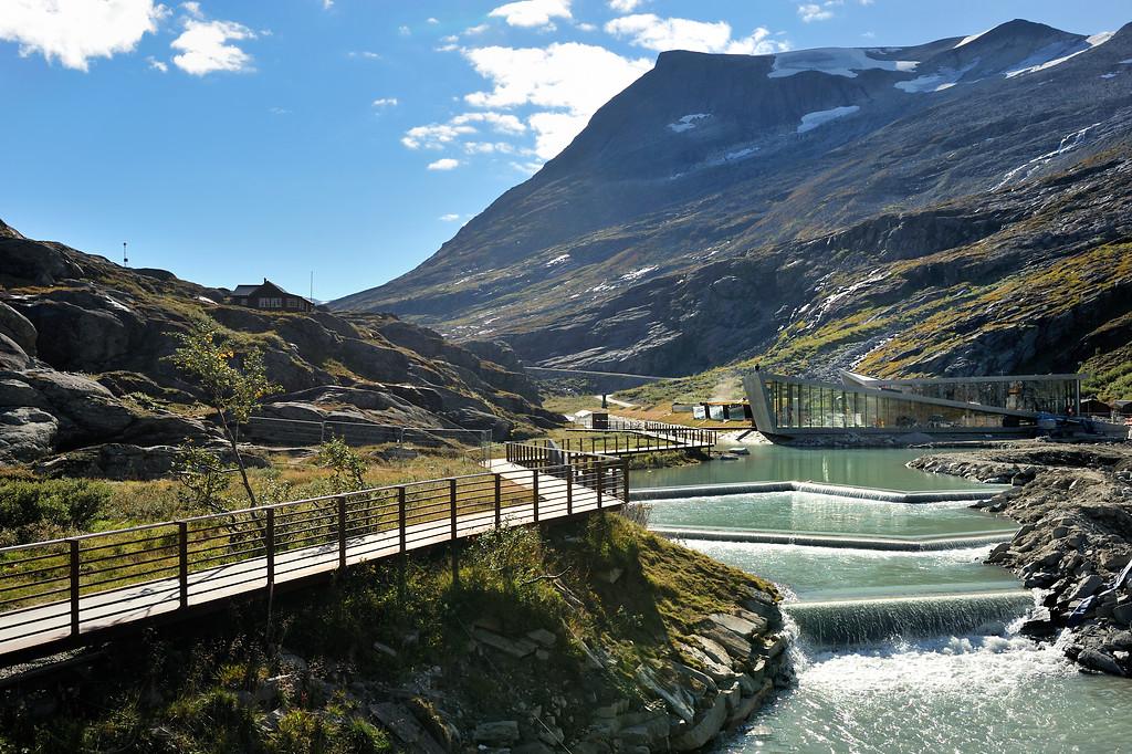 Trollstigen, September 9th. Photo by Jarle Wæhler / Statens Vegvesen.