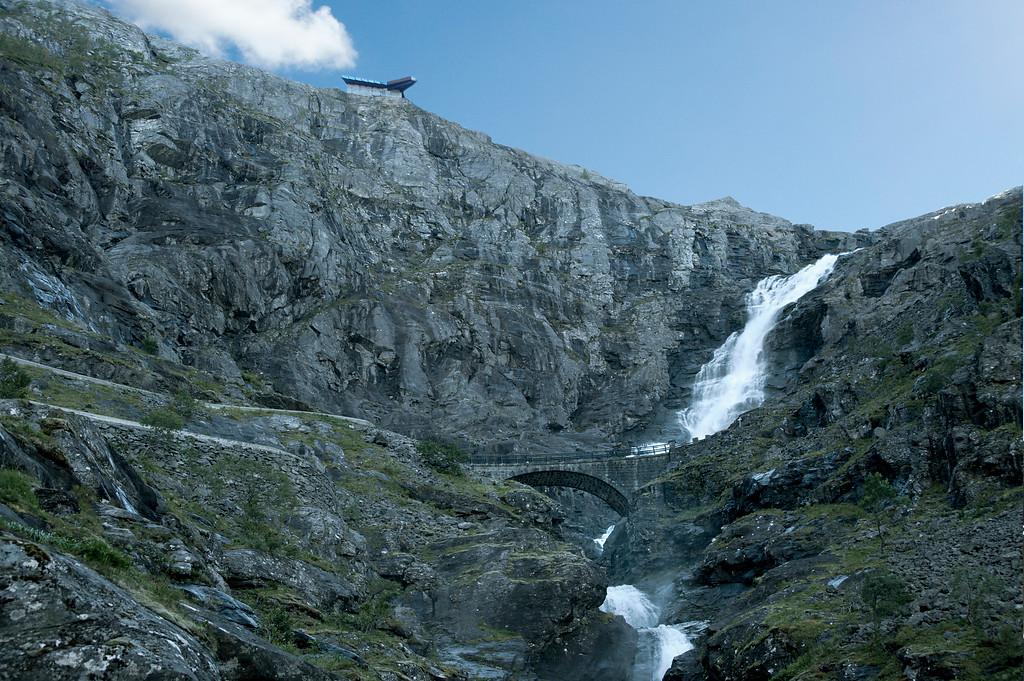 Trollstigen lookout, September 9th. Photo by Roger Ellingsen.