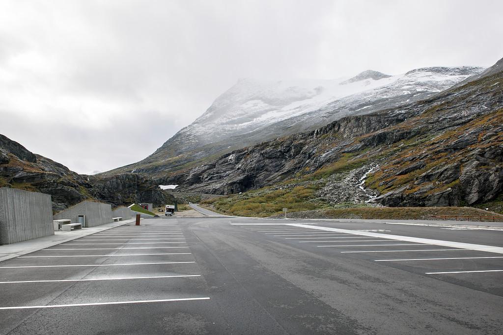 Trollstigen, September 20  th. Photo by Jiri Havran / Statens Vegvesen.