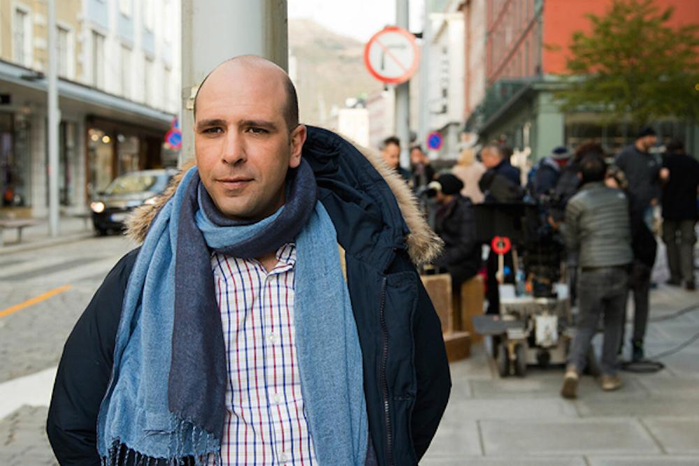 Checco Zalone in Bergen, Norway. Press photo.
