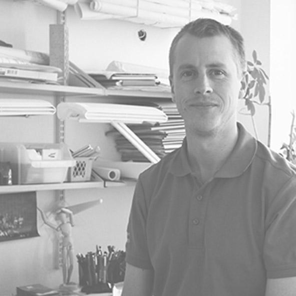Christer har jobbat hos Arkitekthuset Monarken sedan 2007.