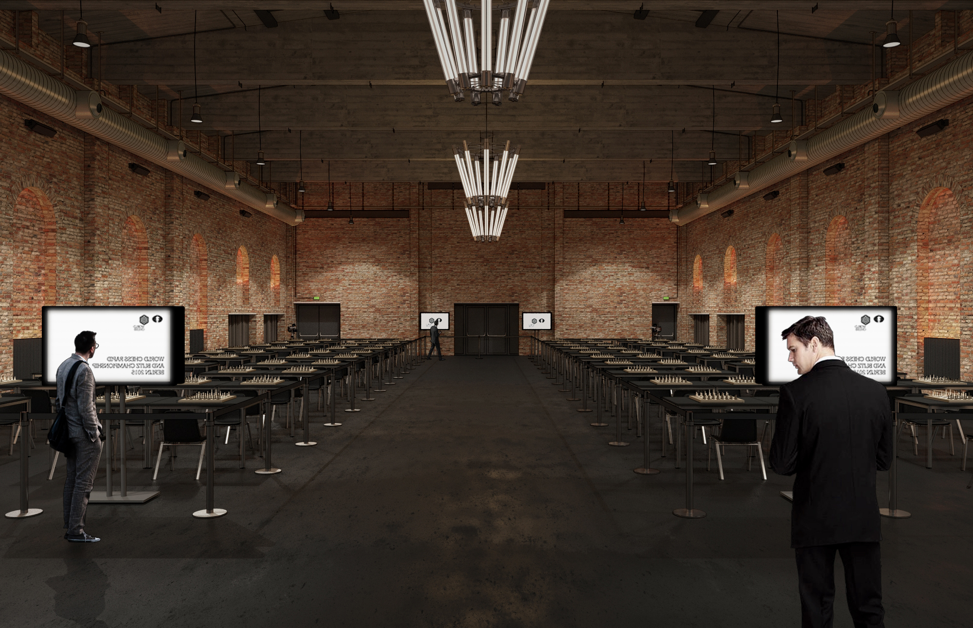 Playing Hall Render