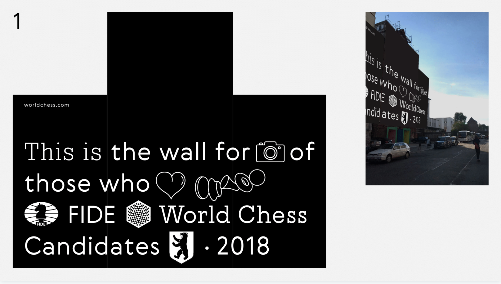 The image is designed to be a selfie-magnet. We have not used it because while fun and cool and full of emojis, it does not have the message we wanted the building to carry.