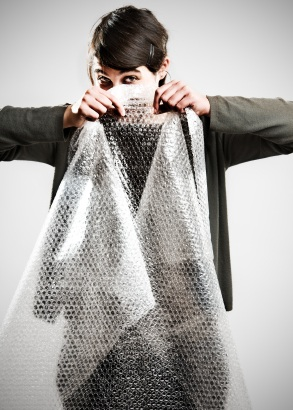 Bubble wrap - a great way to de-stress?
