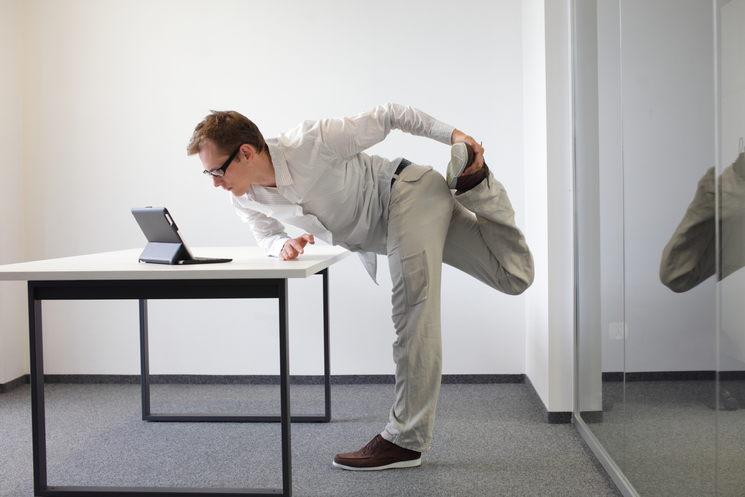 Can we really undo the harm that sitting for long hours can do, simply by exercise and healthy eating?