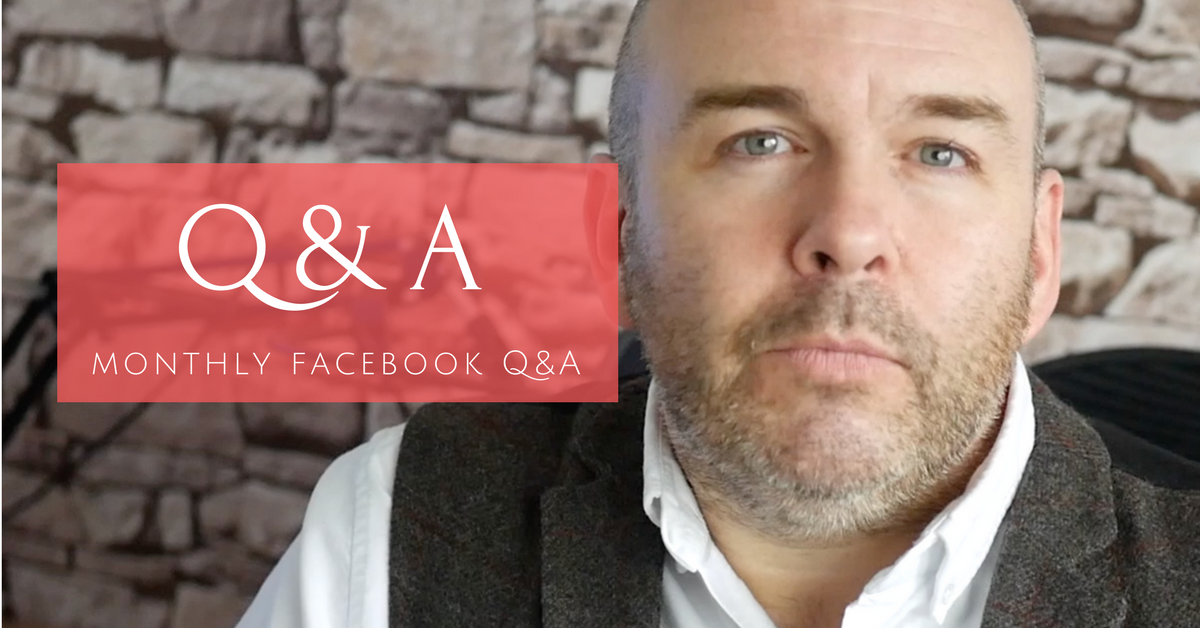 Monthly Facebook Q&A