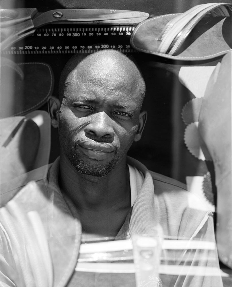 ILBOUDO ABLACE  Fine leather craftman, BURKINA FASO