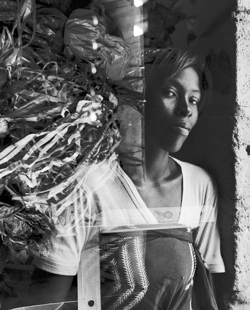 EVELYNE OUEDRAOGO & HER TEAM  Plastic bag weavers, BURKINA FASO